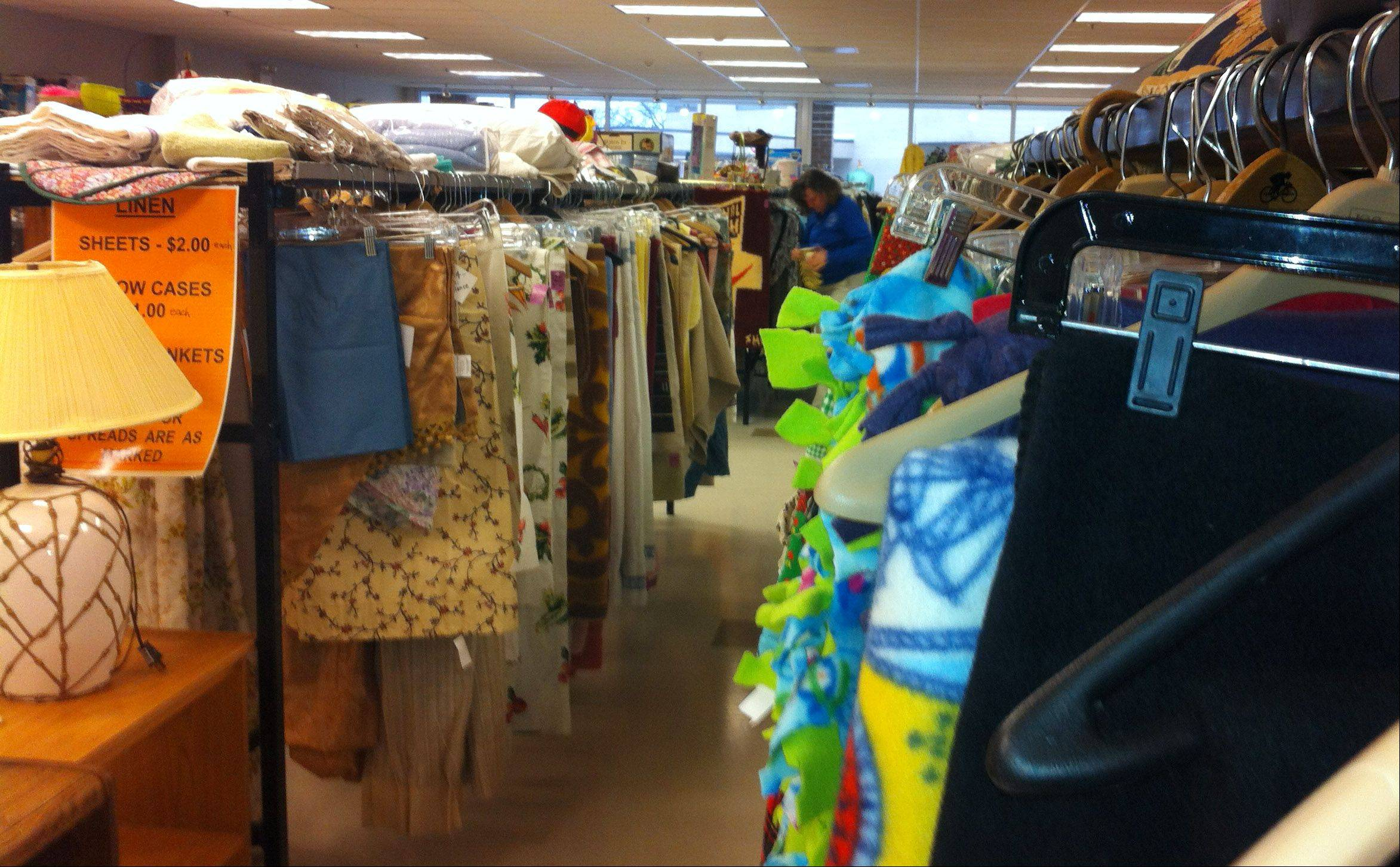 The St. Vincent de Paul thrift store in Libertyville, which features clothing, furniture and household items, quietly has been helping Lake County residents in need since opening in November but will celebrate its grand opening Monday. It's located at 1125 S. Milwaukee Ave. in the Greentree shopping center.