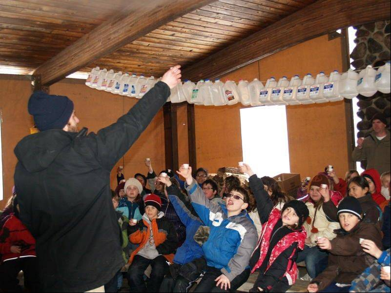 Marengo's Festival of the Sugar Maples includes toasting with pure maple syrup.