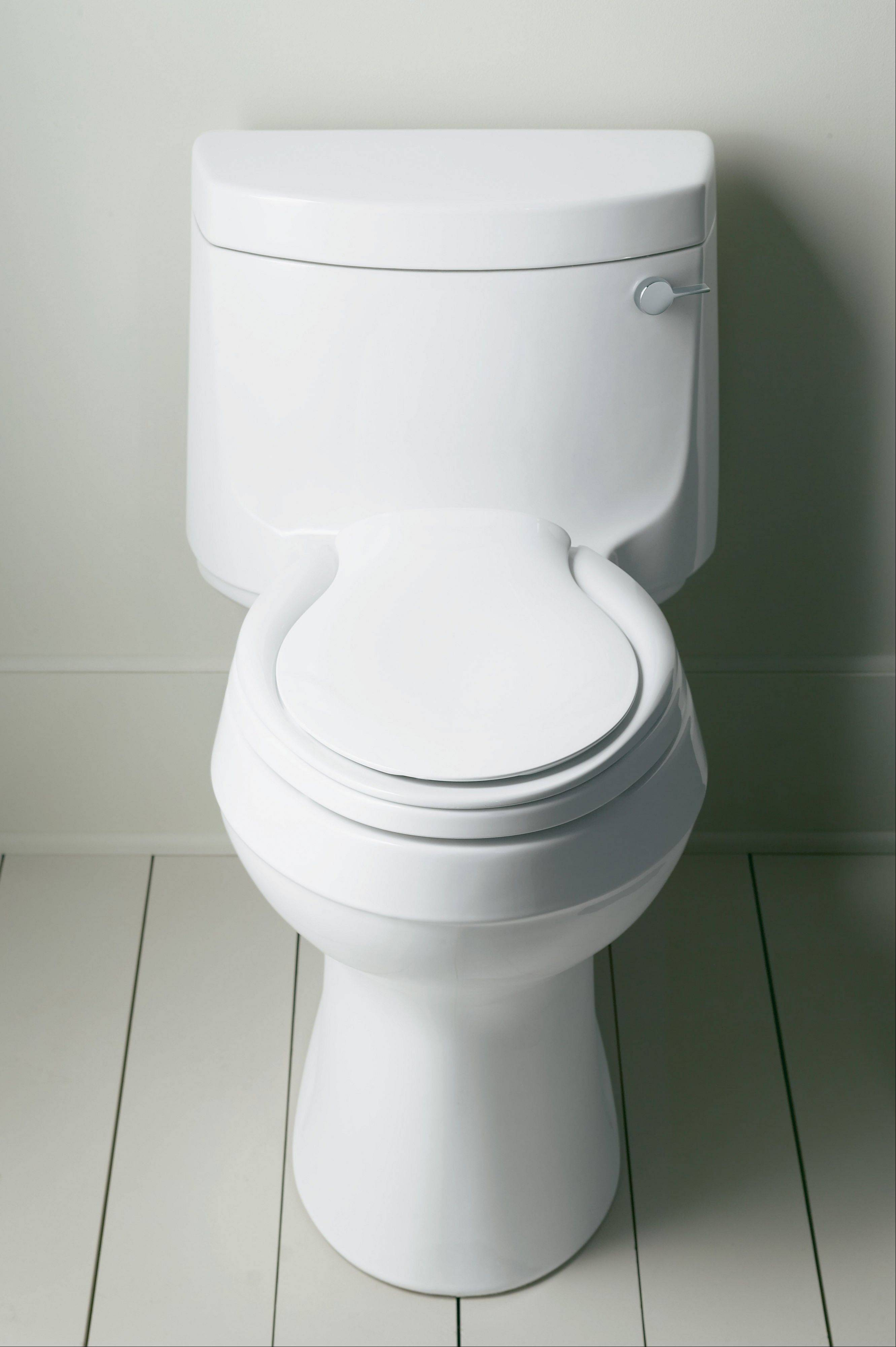 The biggest advantage of a one-piece toilet is it can be much easier to clean.