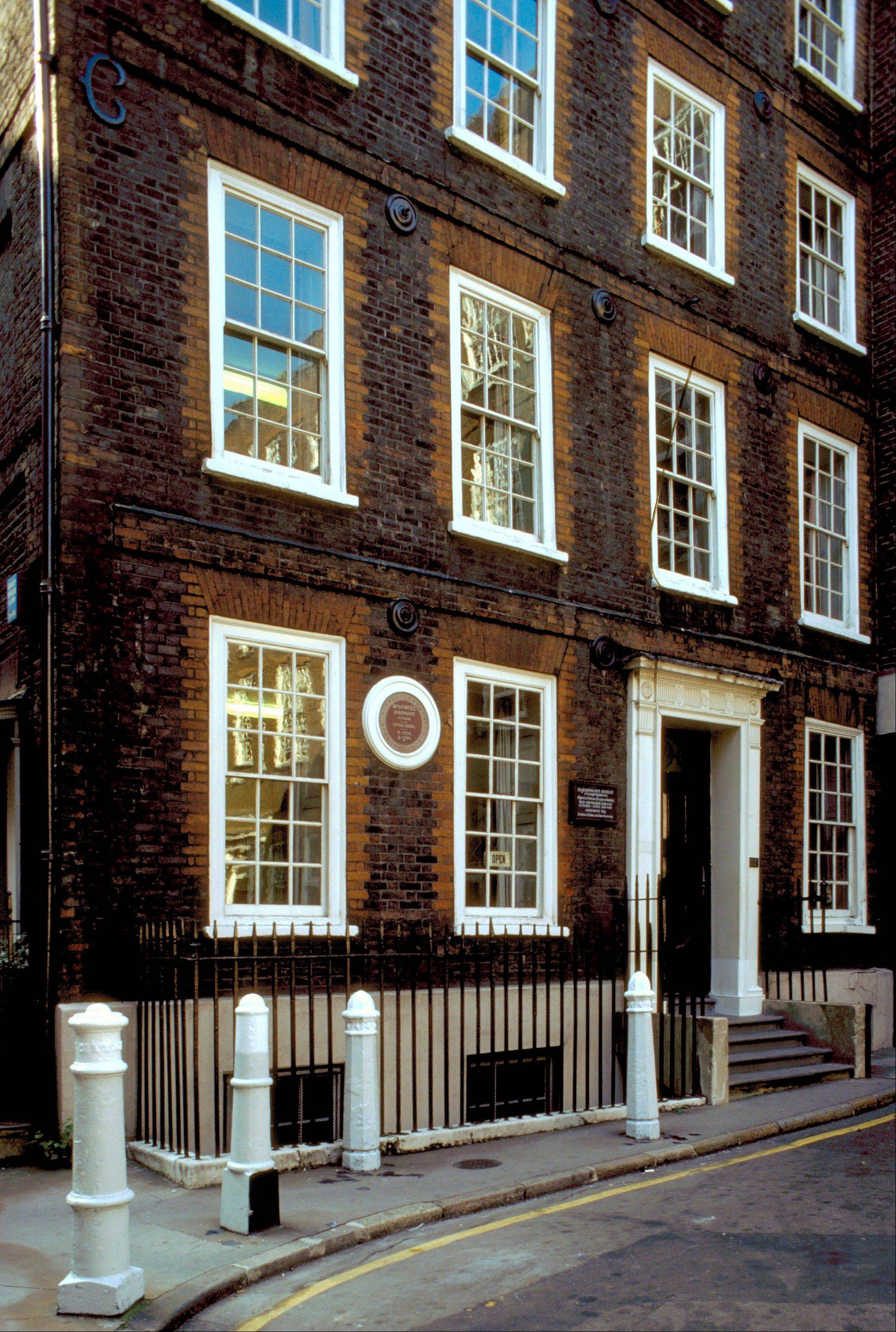 Dr. Johnson's House, is a small museum in the 300-year-old townhouse where Samuel Johnson lived in London. Johnson was an author, critic and lexicographer who wrote A Dictionary of the English Language.