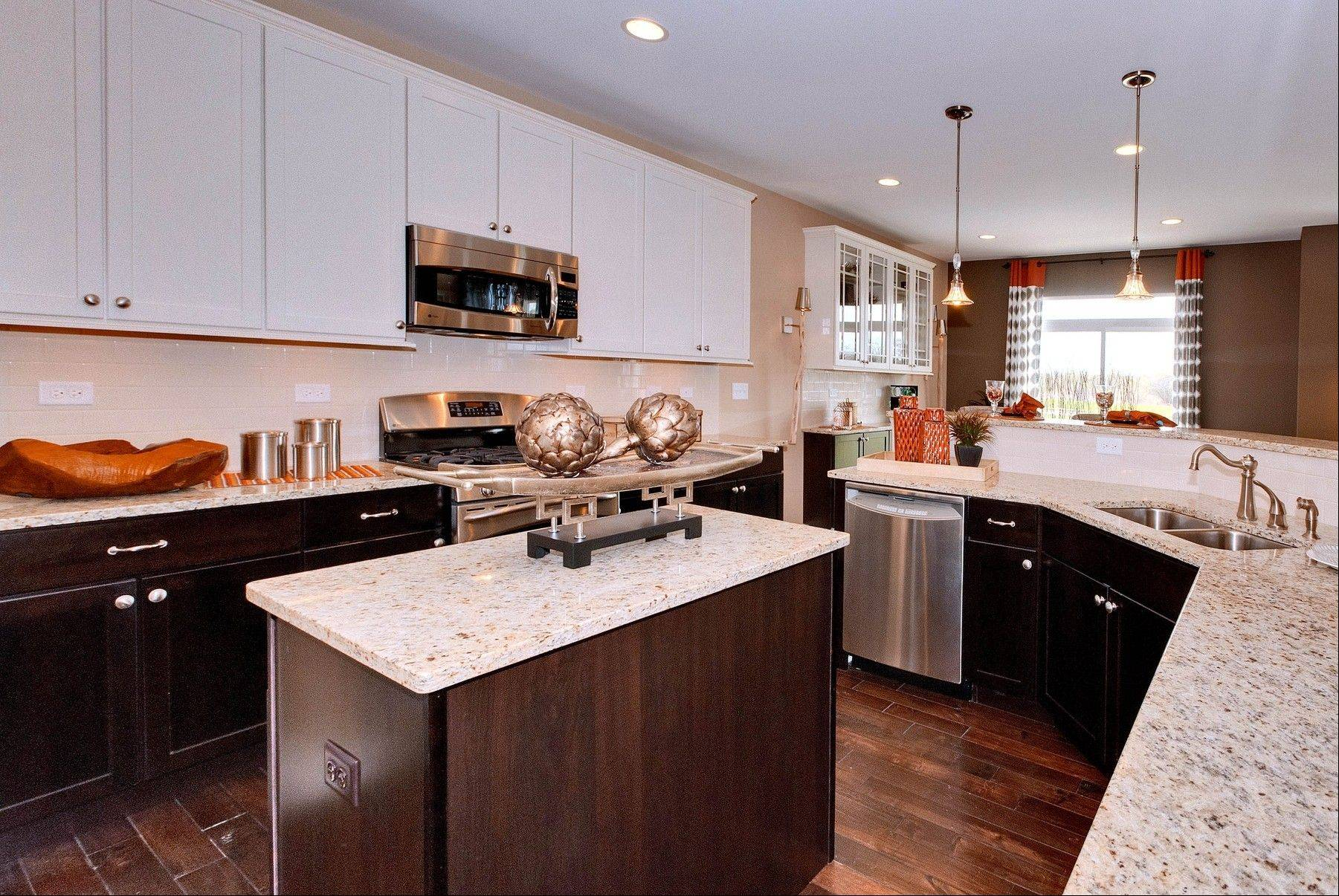 Modern kitchens have always been popular with buyers. Center islands are desired for their extra counter space.