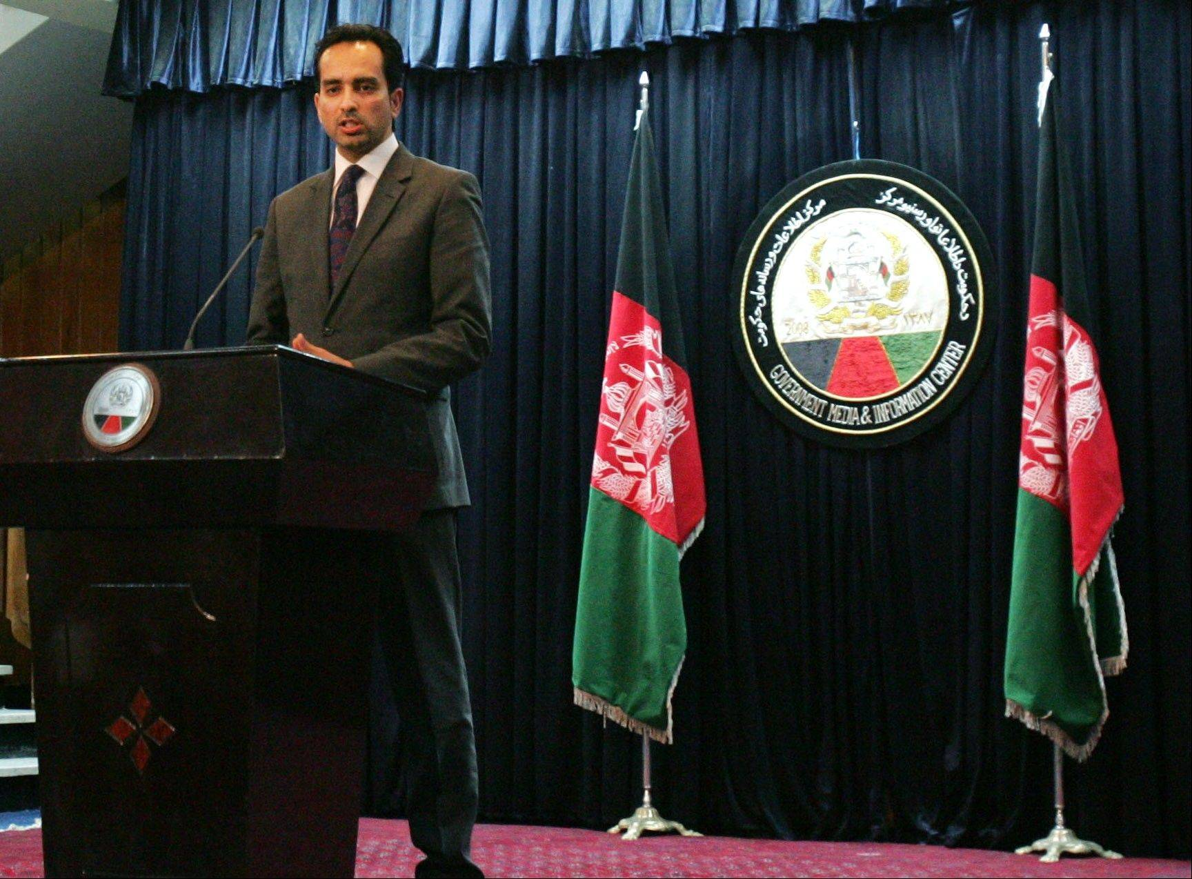 Afghanistan presidential spokesman Aimal Faizi, speaking Sunday in Kabul, said all U.S. special forces must leave eastern Wardak province within two weeks because of allegations that Afghans working with them are torturing and abusing other Afghans.