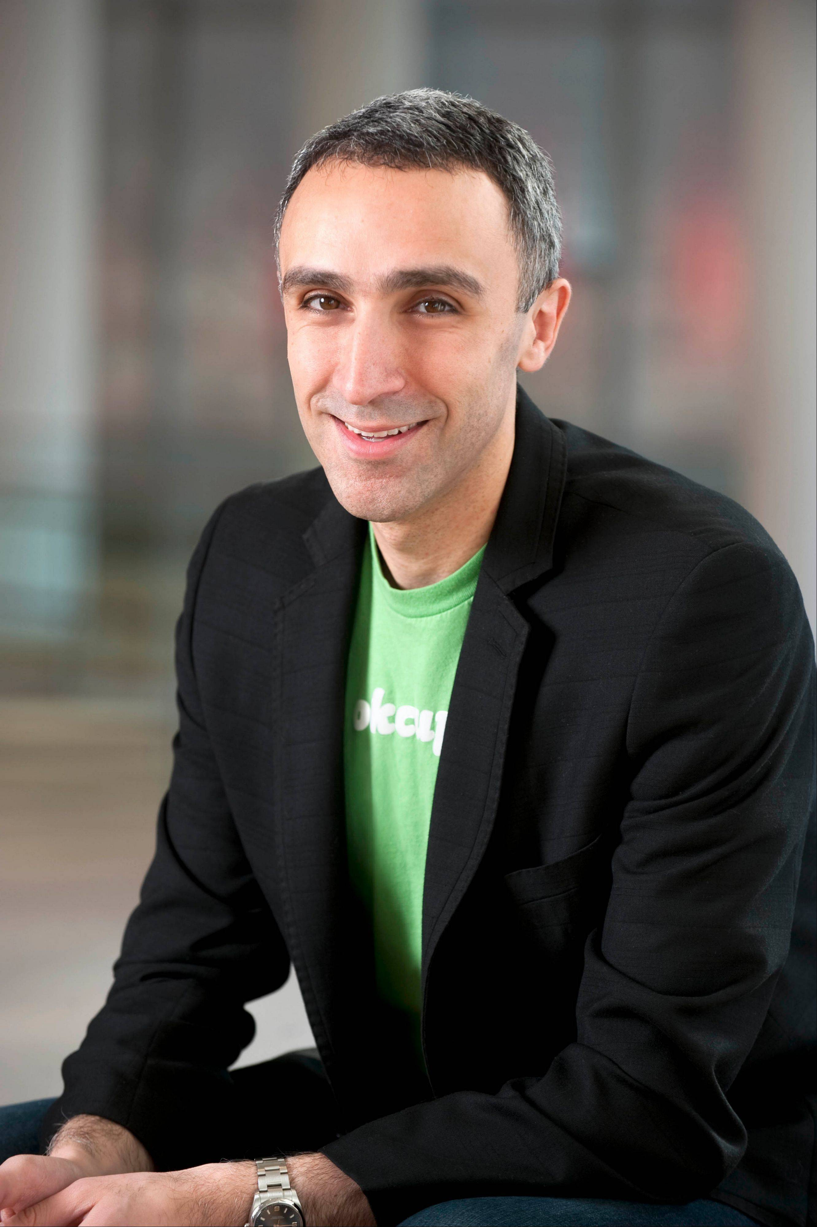 Sam Yagan, 35, is a 1995 graduate of the Illinois Math and Science Academy in Aurora and CEO of Match.com.