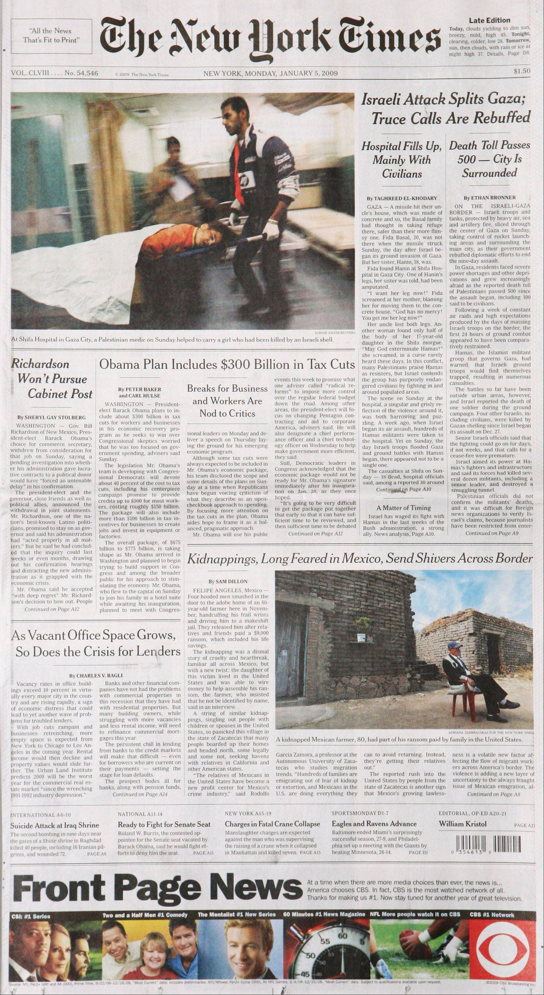 The New York Times said its International Herald Tribune newspaper will be renamed the International New York Times, eliminating a global brand that traces its roots to 1887.