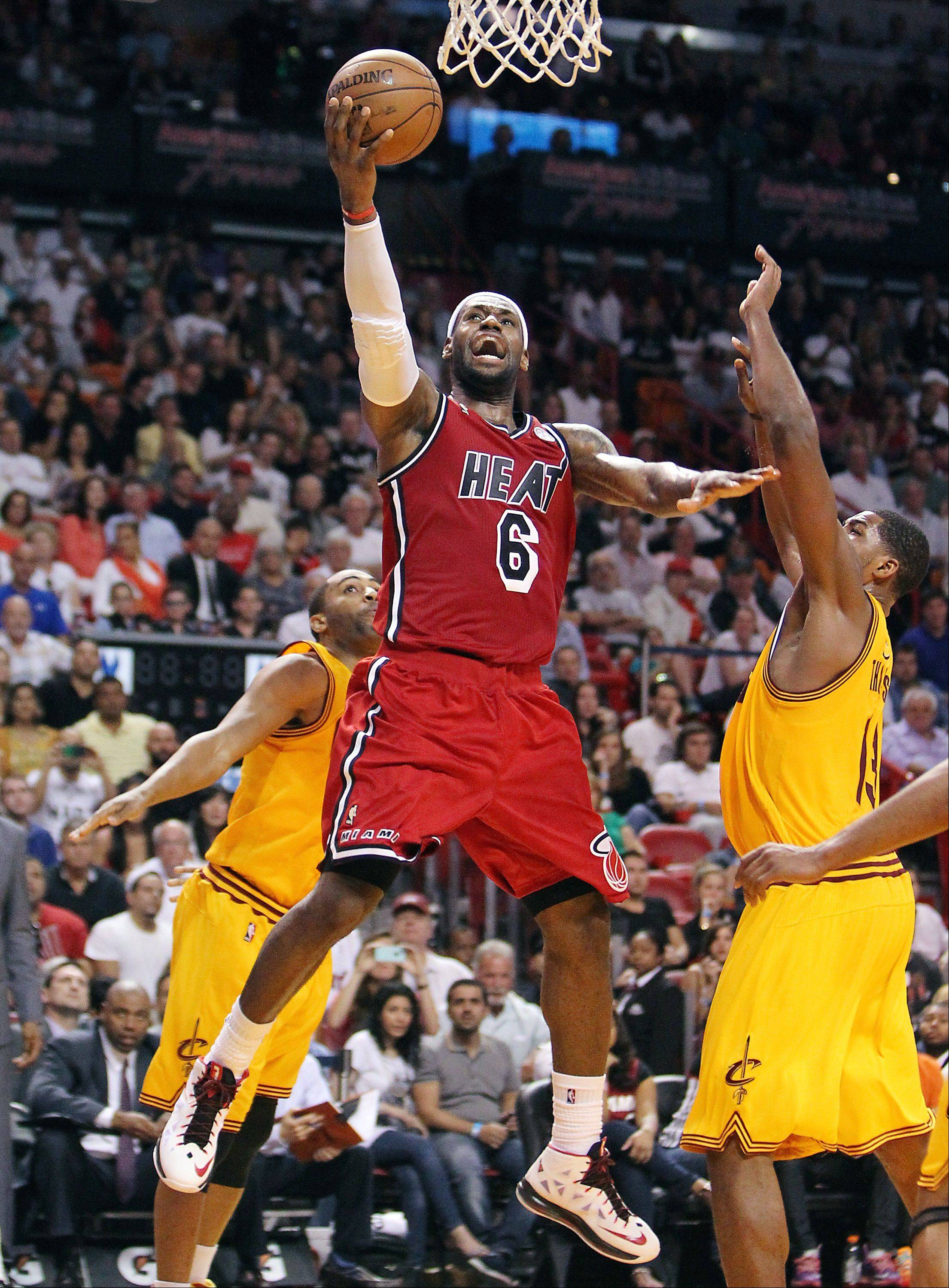 Like it or not, Miami�s LeBron James has more to do with the Bulls� near future than anything the Bulls decide to do.