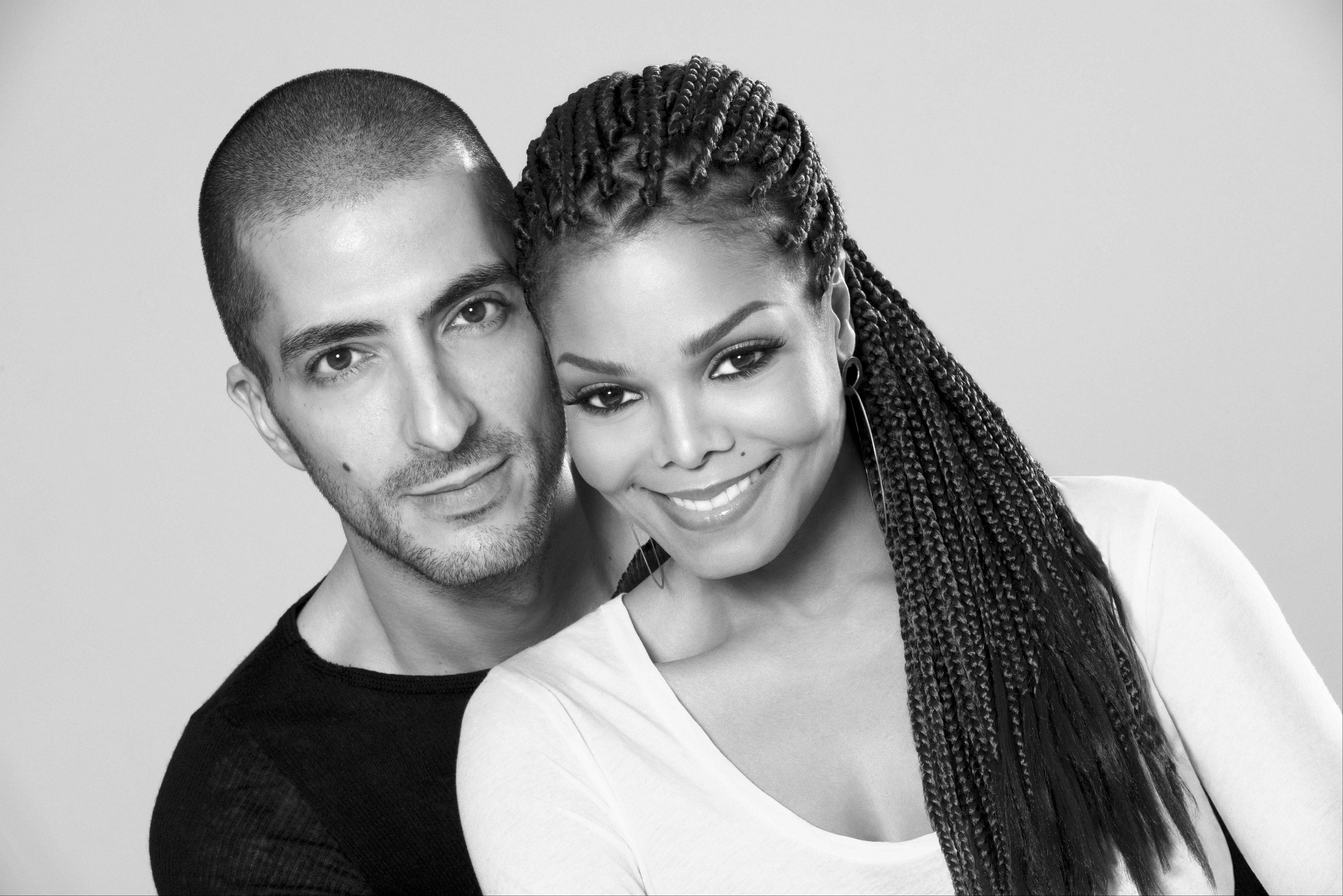 This 2012 publicity photo provided by Guttman Associates shows Janet Jackson with Wissam Al Mana, in a portrait taken by photographer, Marco Glaviano. A representative for Jackson confirmed Monday that the musician and Wissam Al Mana wed last year.