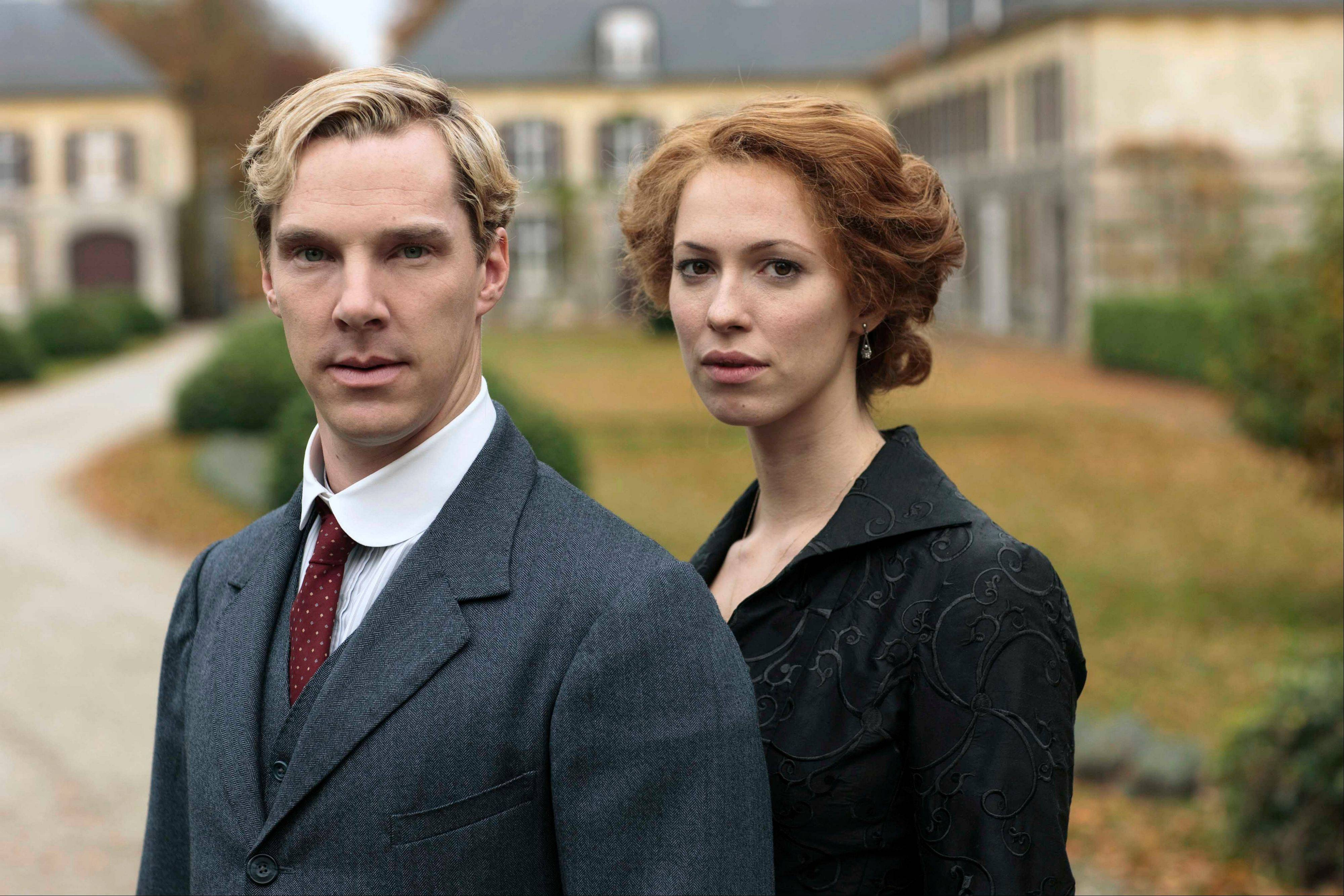 "Benedict Cumberbatch plays tradition-bound Christopher and Rebecca Hall is his unfaithful wife, Sylvia, in the five-part miniseries ""Parade's End,"" debuting Tuesday, Feb. 26, on HBO."