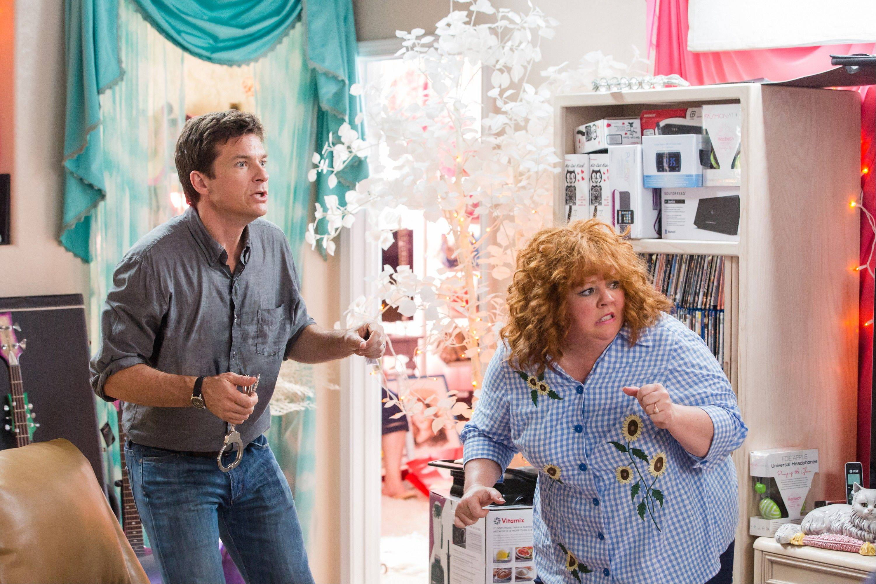 "Jason Bateman and Melissa McCarthy star in ""Identity Thief."""