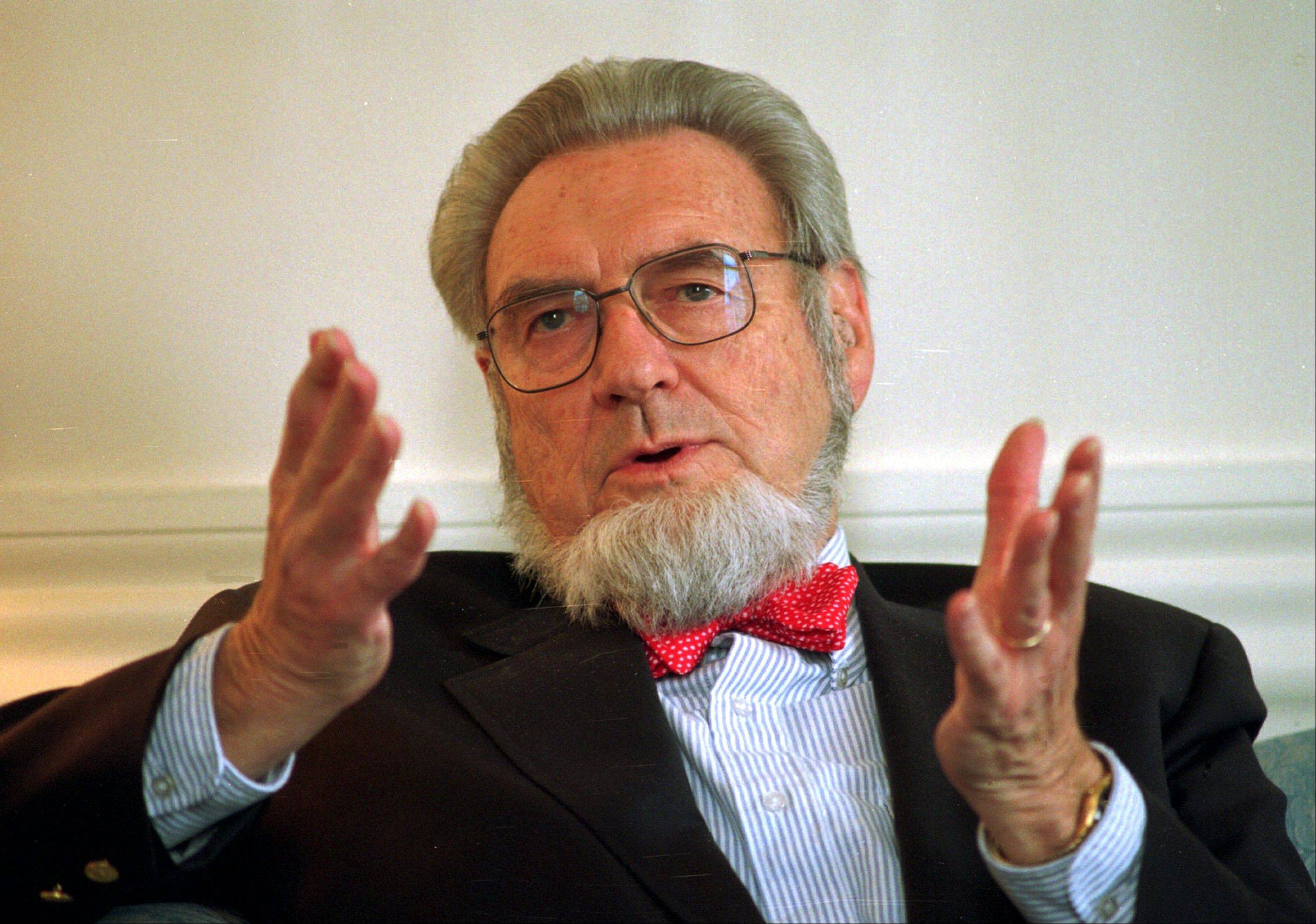 Former Surgeon General Dr. C. Everett Koop, who raised the profile of the surgeon general by riveting America's attention on the then-emerging disease known as AIDS and by railing against smoking, died Monday at age 96.