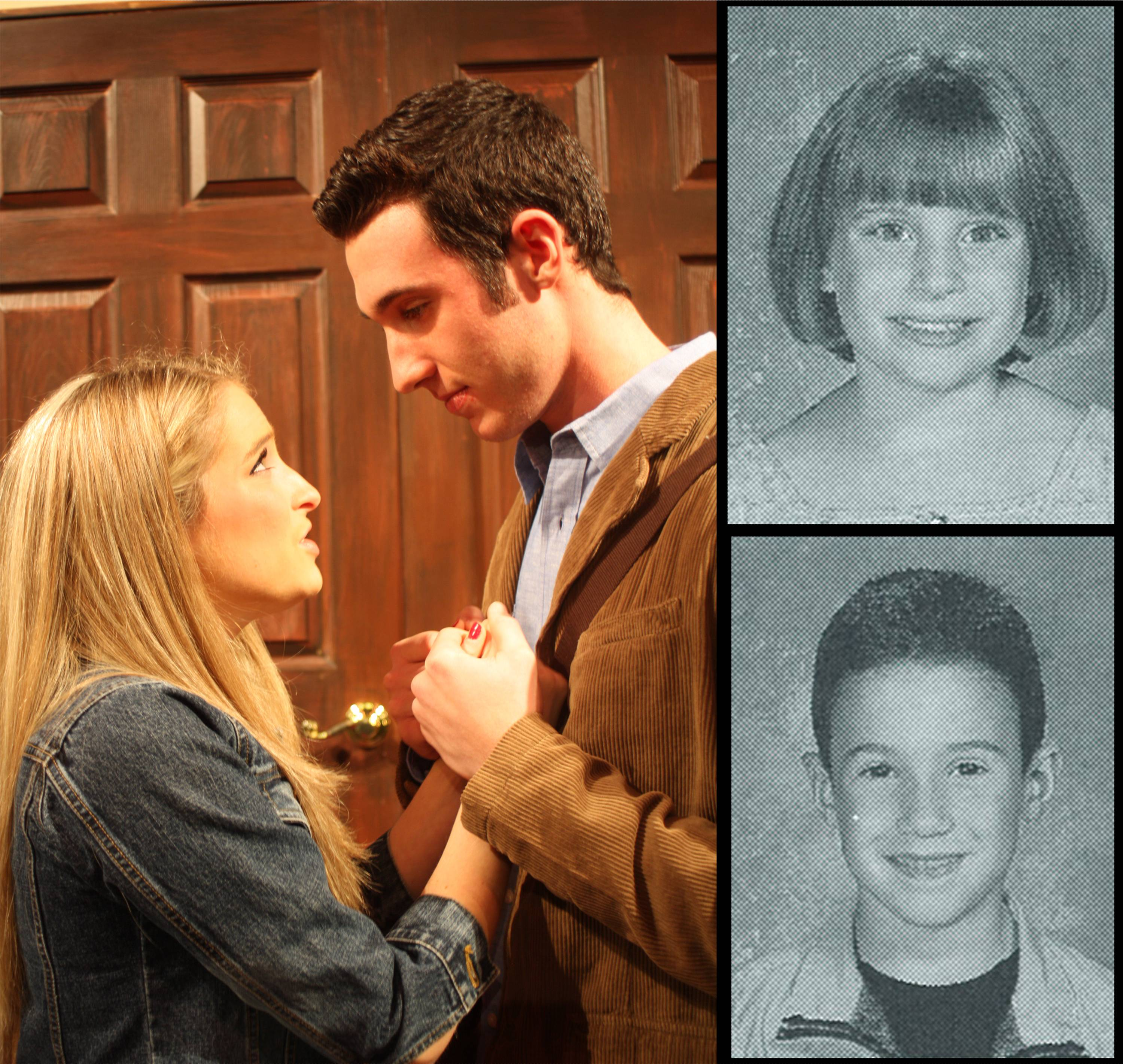 From 1st Graders to the Leads in the CHS Musical Legally Blonde Carly Gurrieri (Elle Woods - left-top) and Jeremy Gentry (right-bottom).