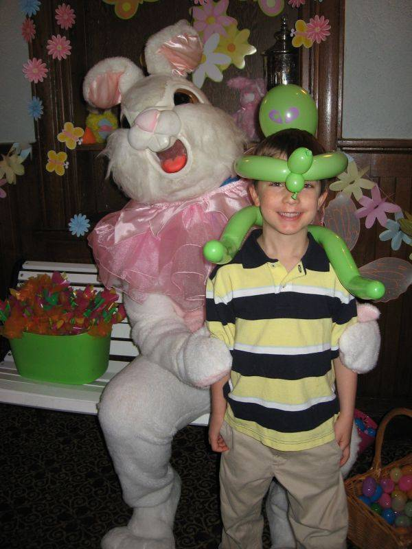 Easter Bunny Breakfast at Chessie's Restaurant