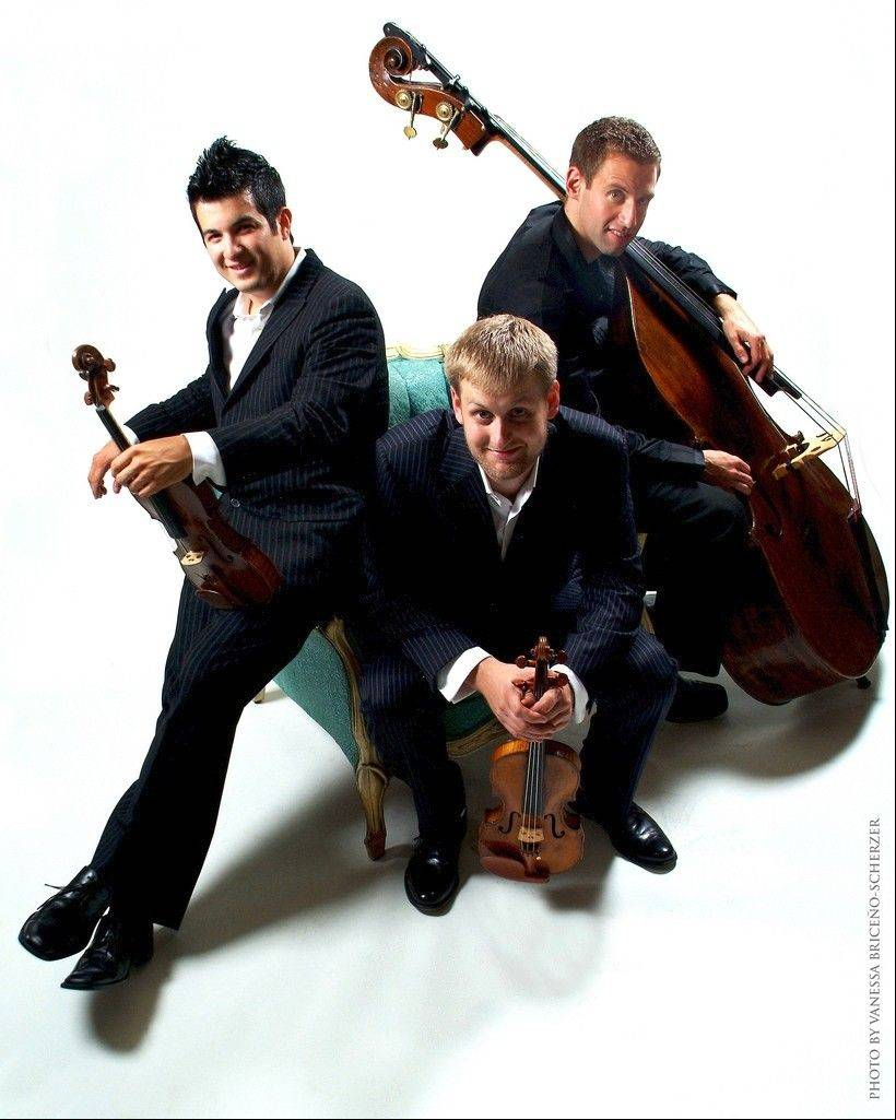 The Time for Three trio will perform Pulitzer Prize-winner Jennifer Higdon's Concerto 4-3 at the March 8-10 concerts with the Elgin Symphony Orchestra.