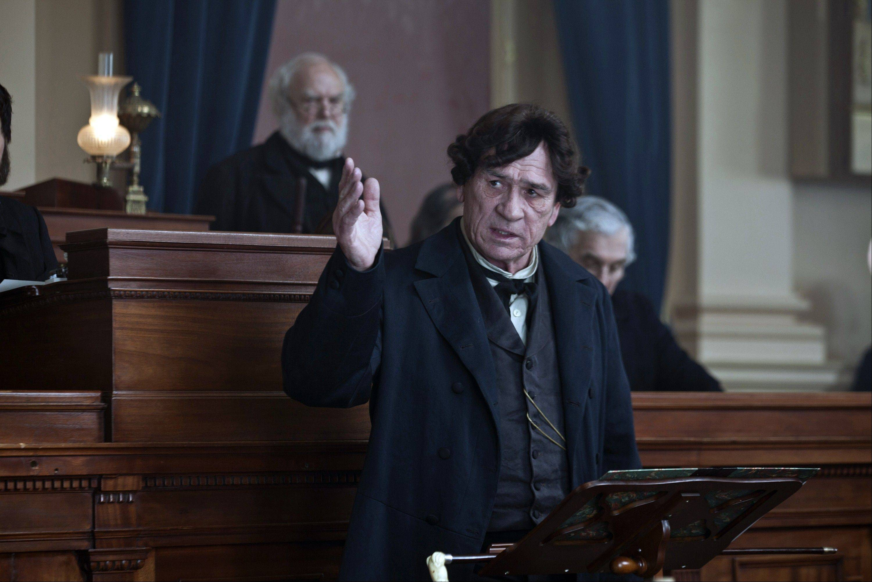 "In this scene from ""Lincoln,"" does actor Tommy Lee Jones look like columnist Burt Constable? What if Burt's thinning hair were replaced by a bad toupee?"