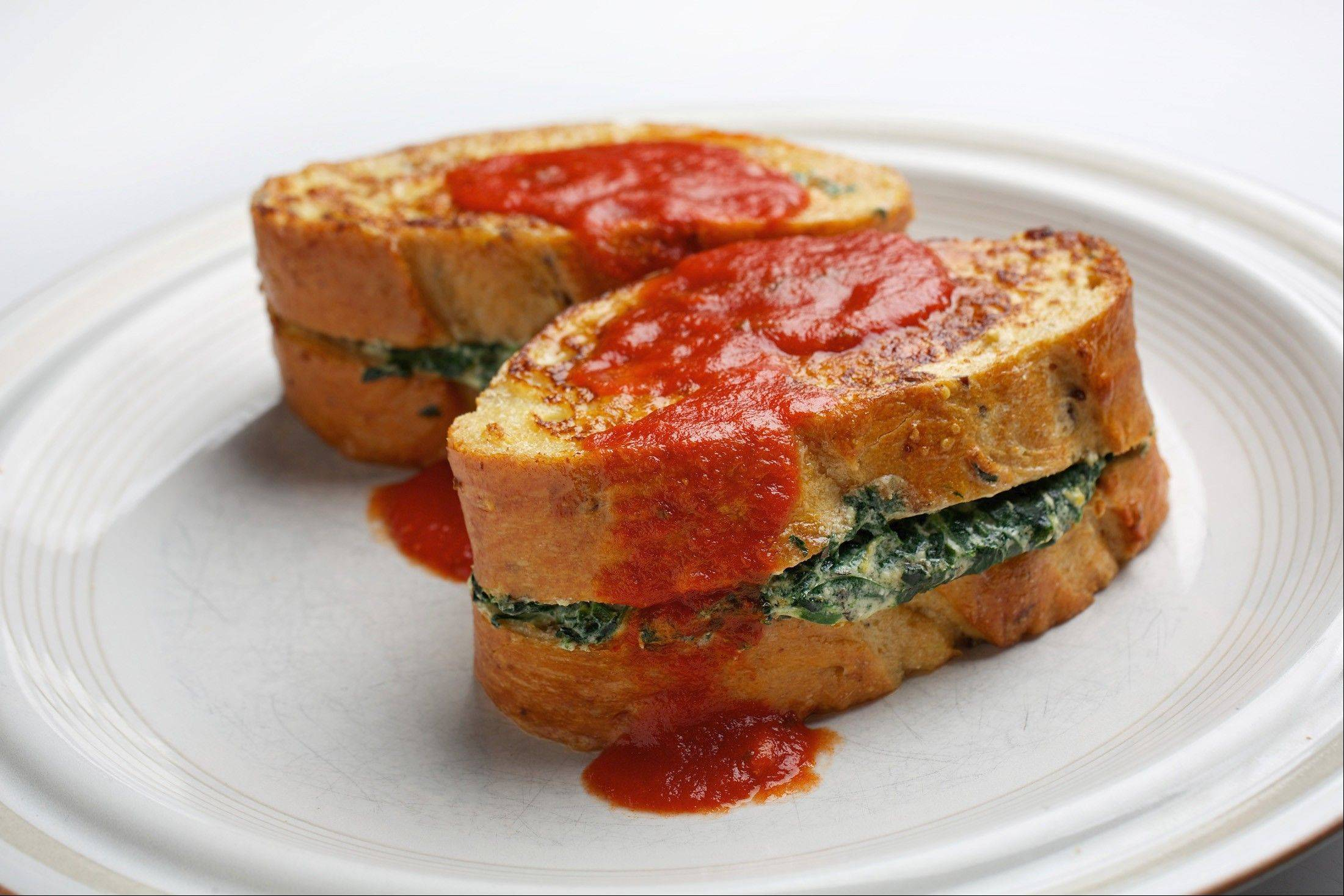 Italian-Style Stuffed French toast is a savory twist on the classic breakfast/brunch staple.
