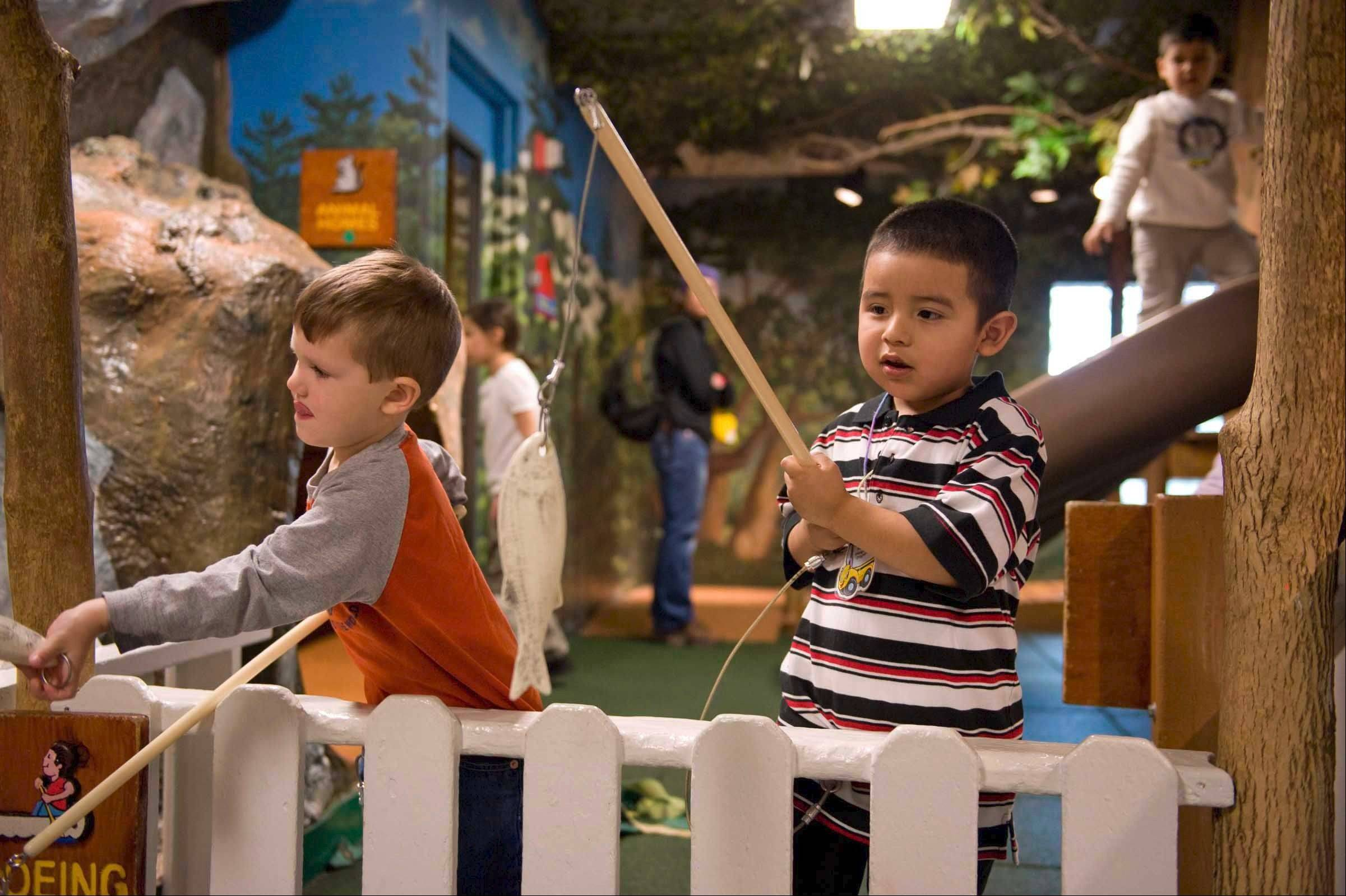 Hands-on activities will keep kids playing for hours at the Chicago Children's Museum at Navy Pier.