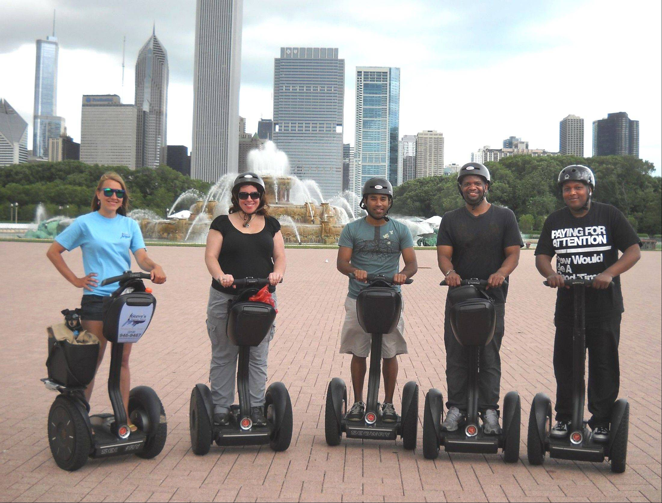 "Tour the city on ""foot"" without breaking a sweat -- on a Segway."
