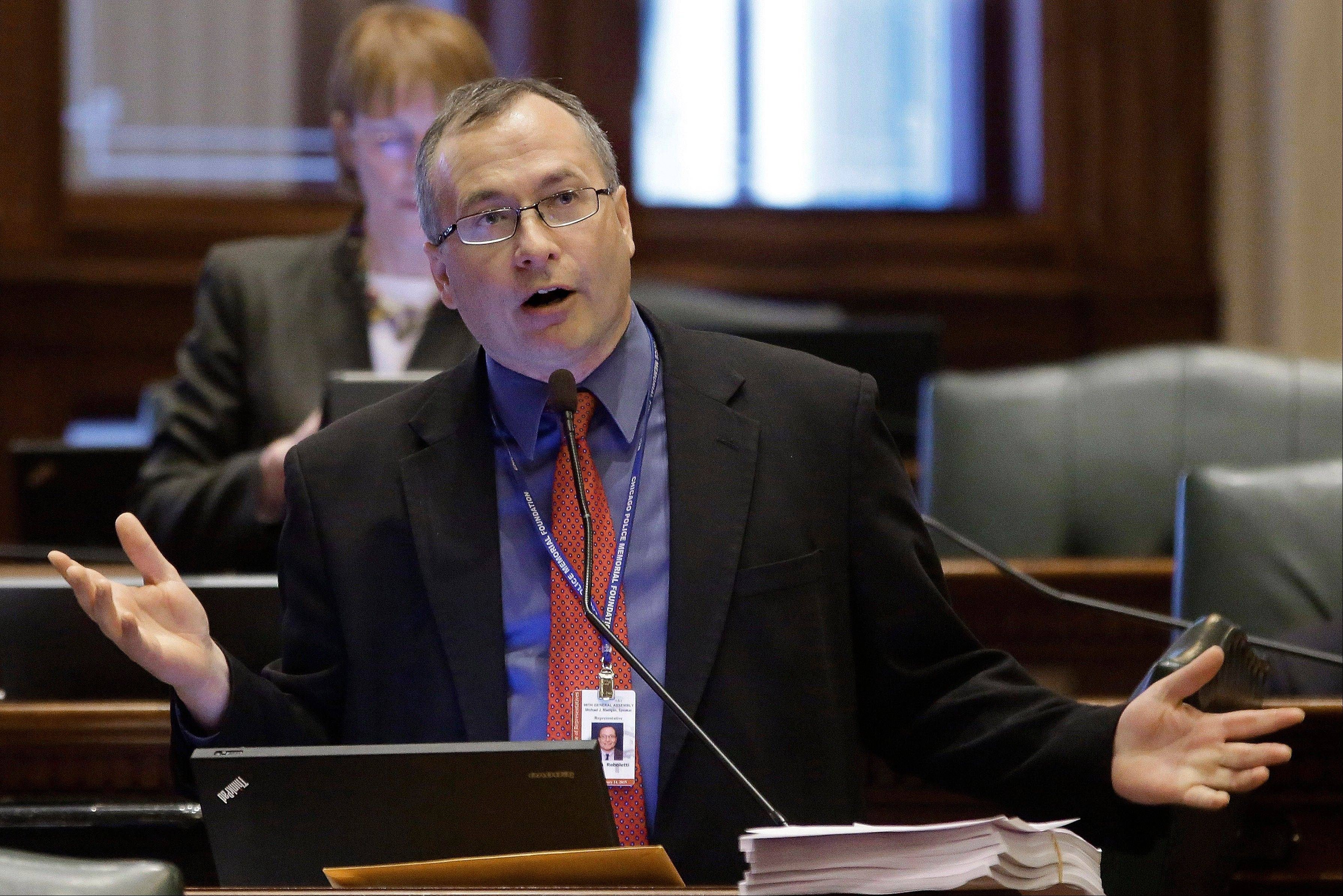 "State Rep. Dennis Reboletti, an Elmhurst Republican, says Illinois is ""the laughingstock of the nation"" on concealed carry."