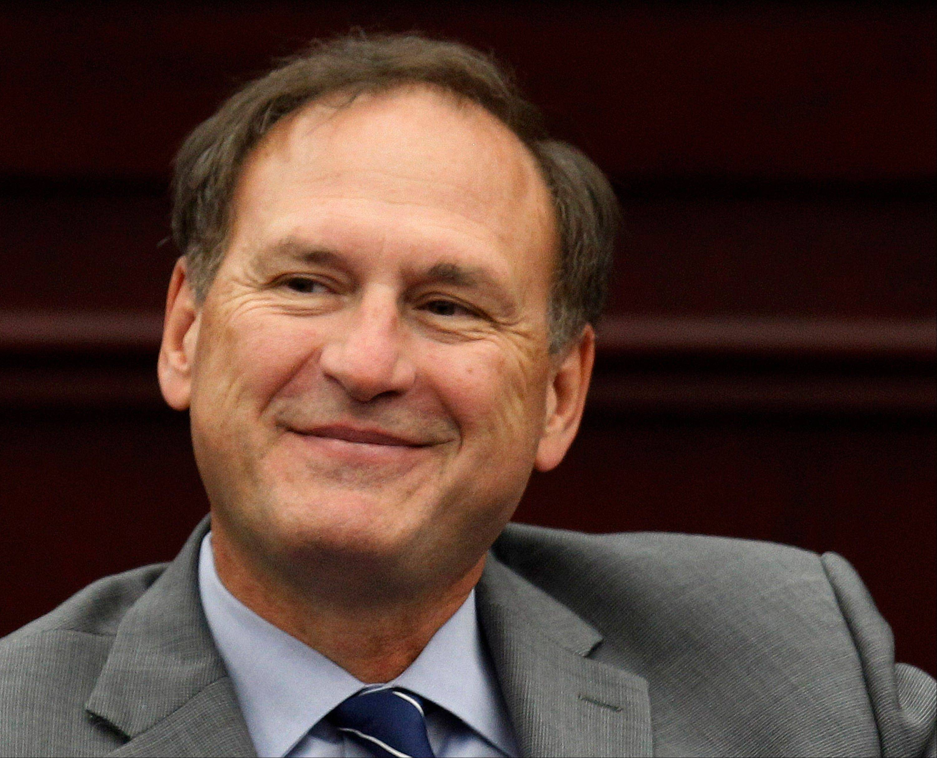 Based on his questions Tuesday, Supreme Court Associate Justice Samuel A. Alito, Jr. sounded as if he supported a law that would let police take DNA from those arrested, but not convicted, in hopes of using it to solve old cases.