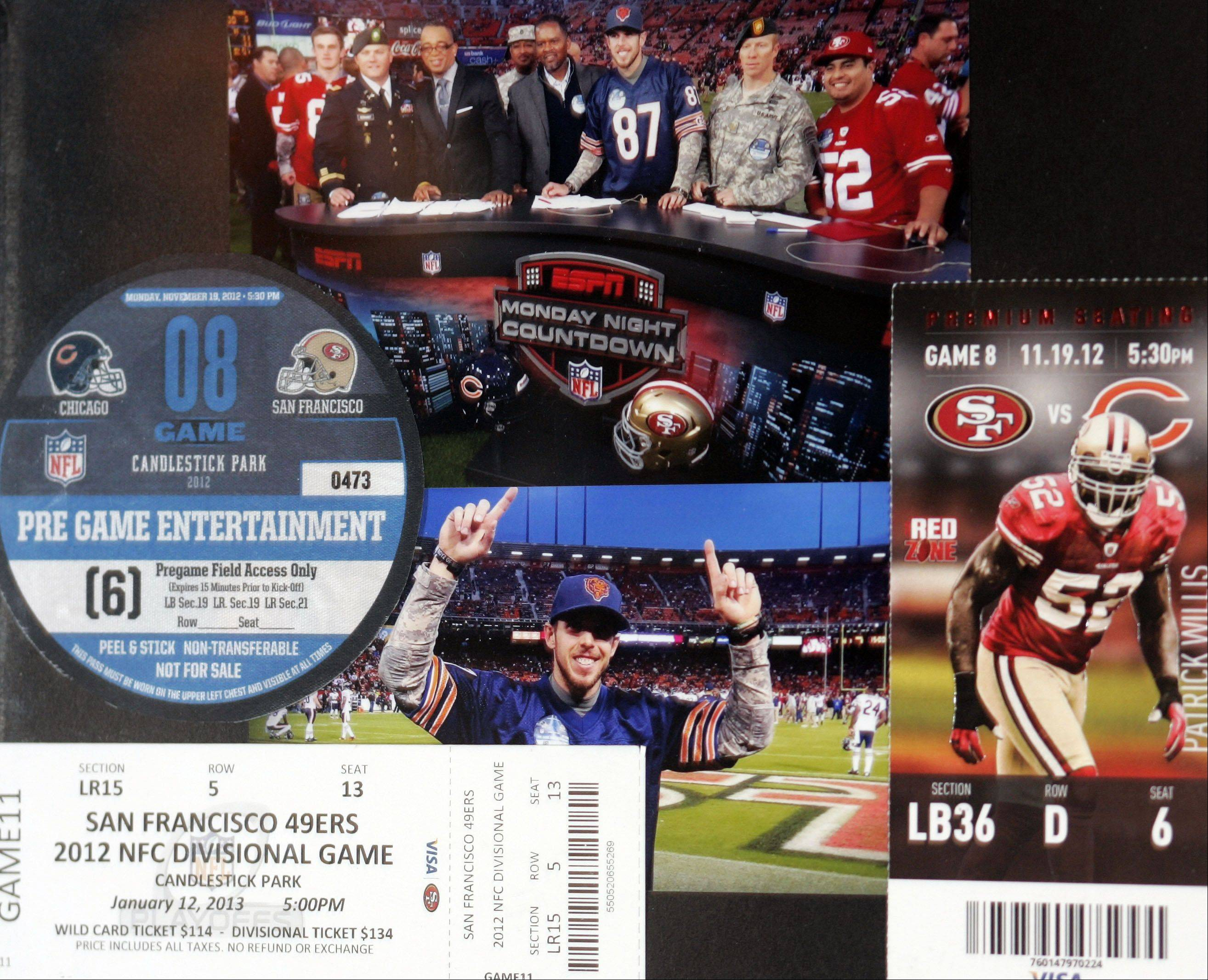Here's the picture collage from the Bears-San Francisco 49ers game.