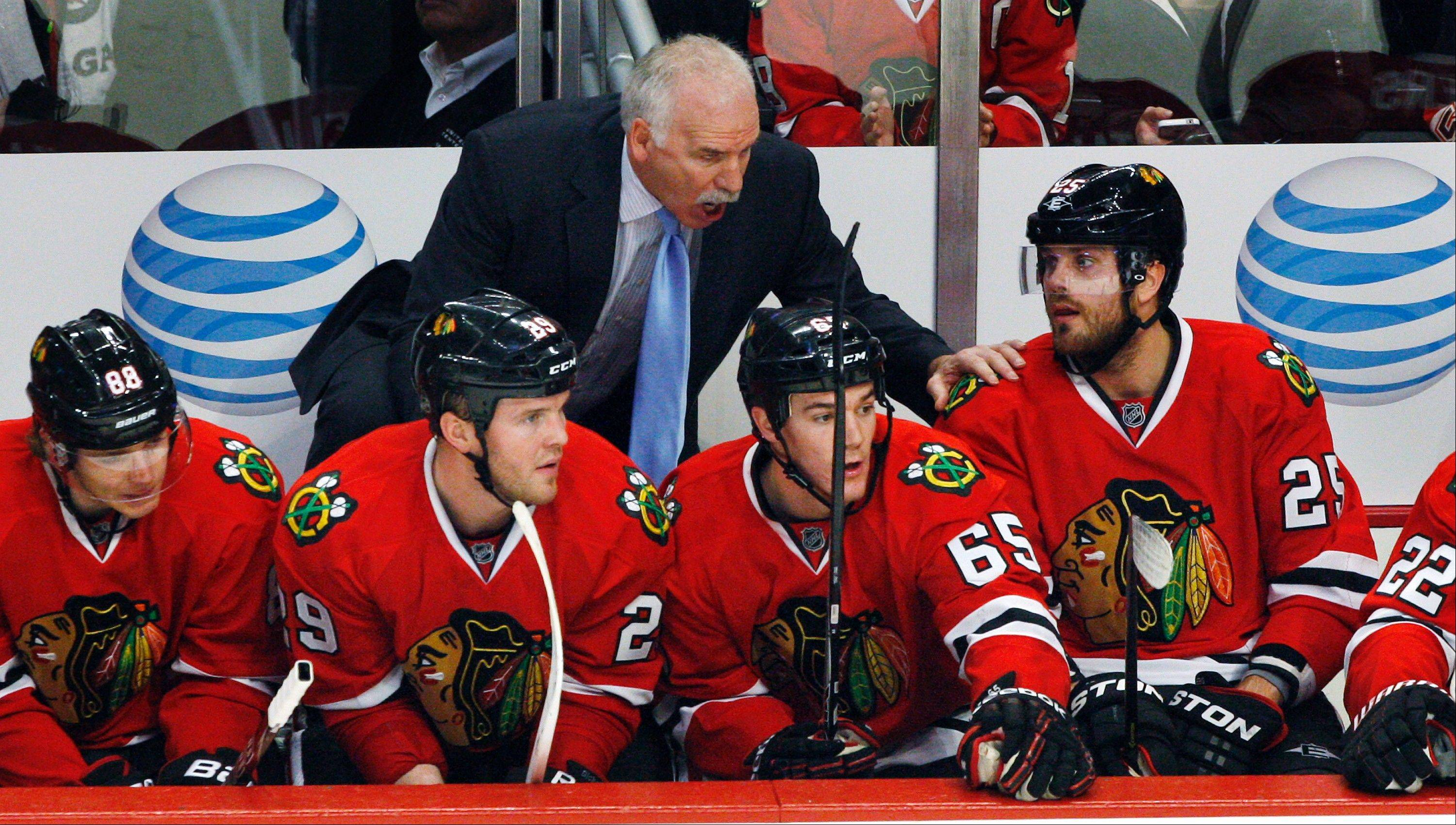 Blackhawks head coach Joel Quenneville has managed to push a lot of the right button this season, and has his team playing at the top of its game.
