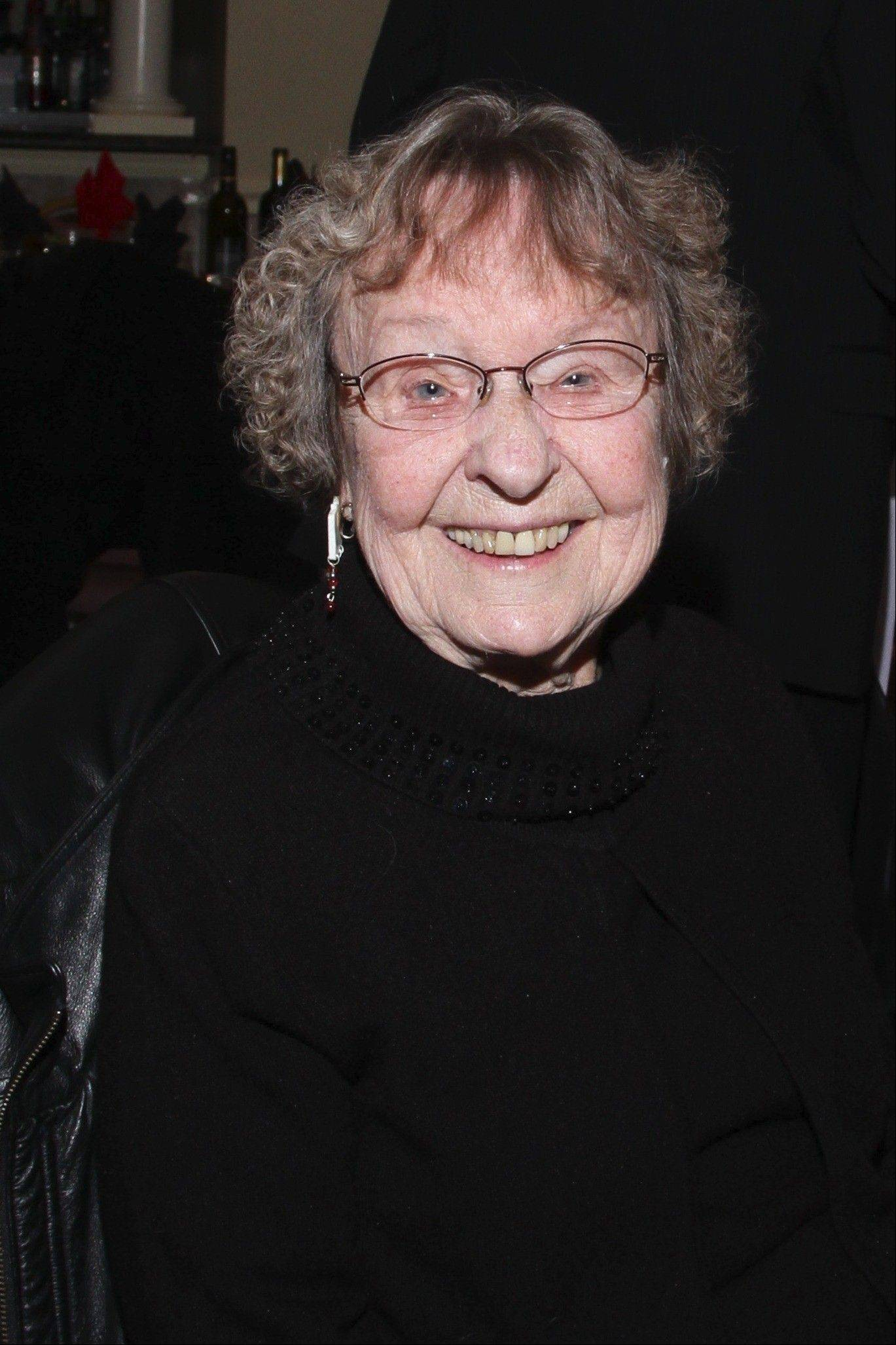 Mary Tarbit was the Guest of Honor at the Palatine Township Senior Citizens Council's 40th annual gala.