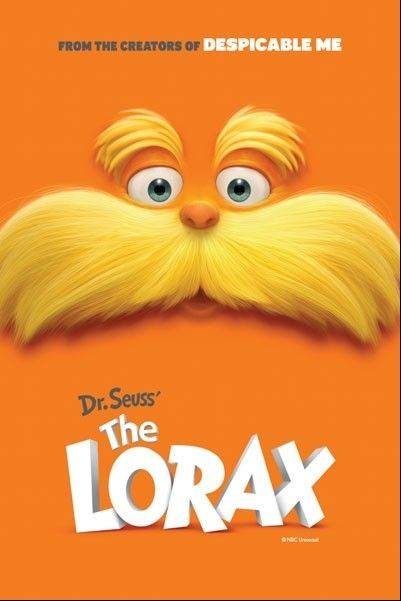 "The Palatine Park District will host a showing of ""The Lorax' Saturday, March 2, to celebrate the birthday of Dr. Seuss."