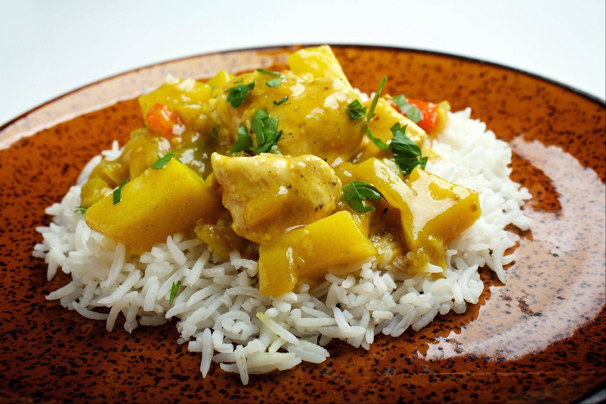 Sweet Apple Chicken Curry