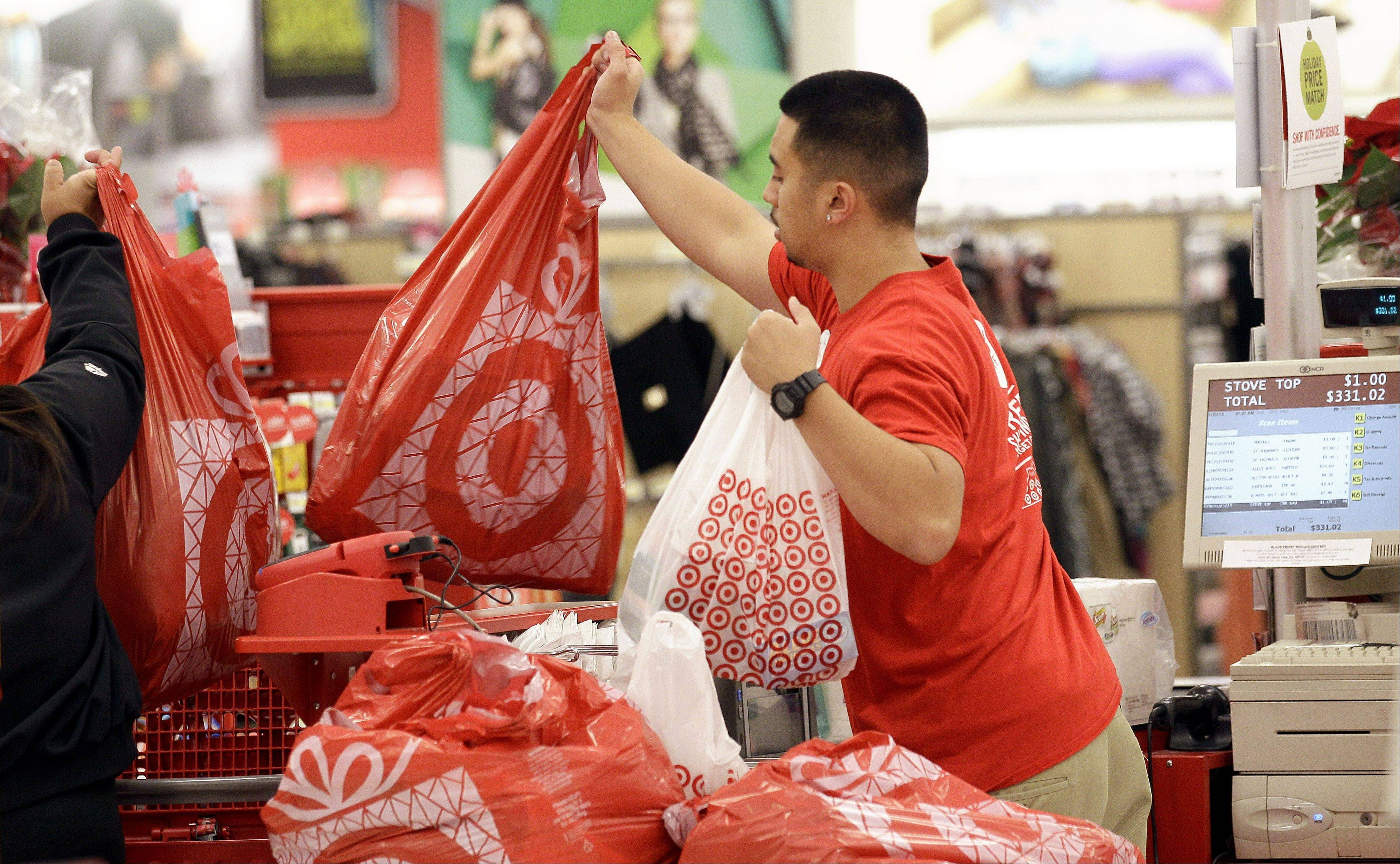 Target's fiscal fourth-quarter net income dipped 2 percent as it dealt with intense competition during the crucial holiday season. But its adjusted results beat analysts' estimates and it forecast first-quarter earnings above Wall Street's view.