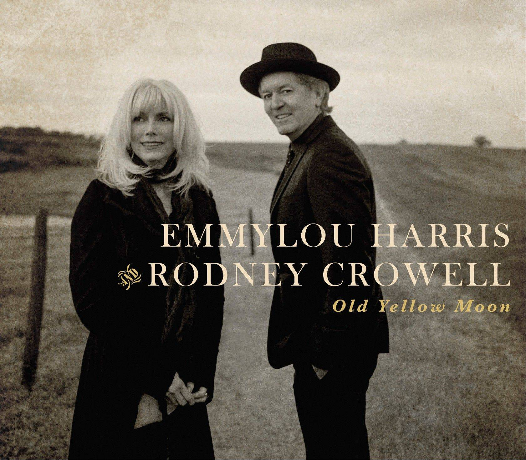 """Old Yellow Moon"" by Emmylou Harris and Rodney Crowell"