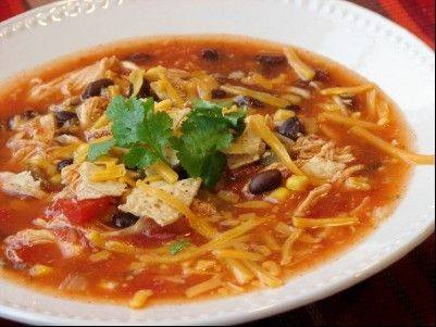 Catherine's Spicy Chicken Soup is the most highly rated chicken soup on AllRecipes.com.