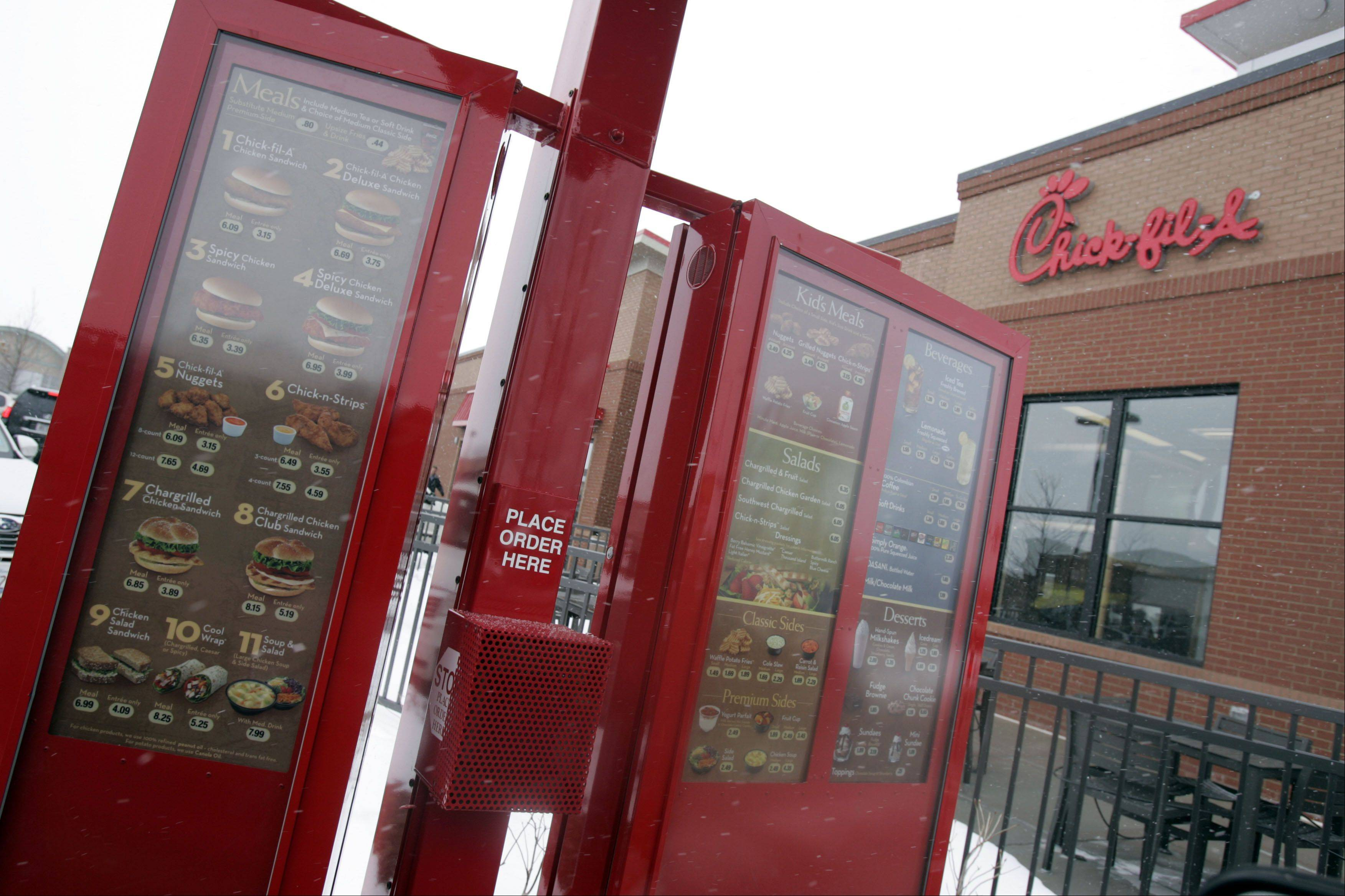 If you haven't had a chance to drop in on the popular Chick-fil-A restaurant in Batavia, don't make the mistake of going on Sunday. It's closed.