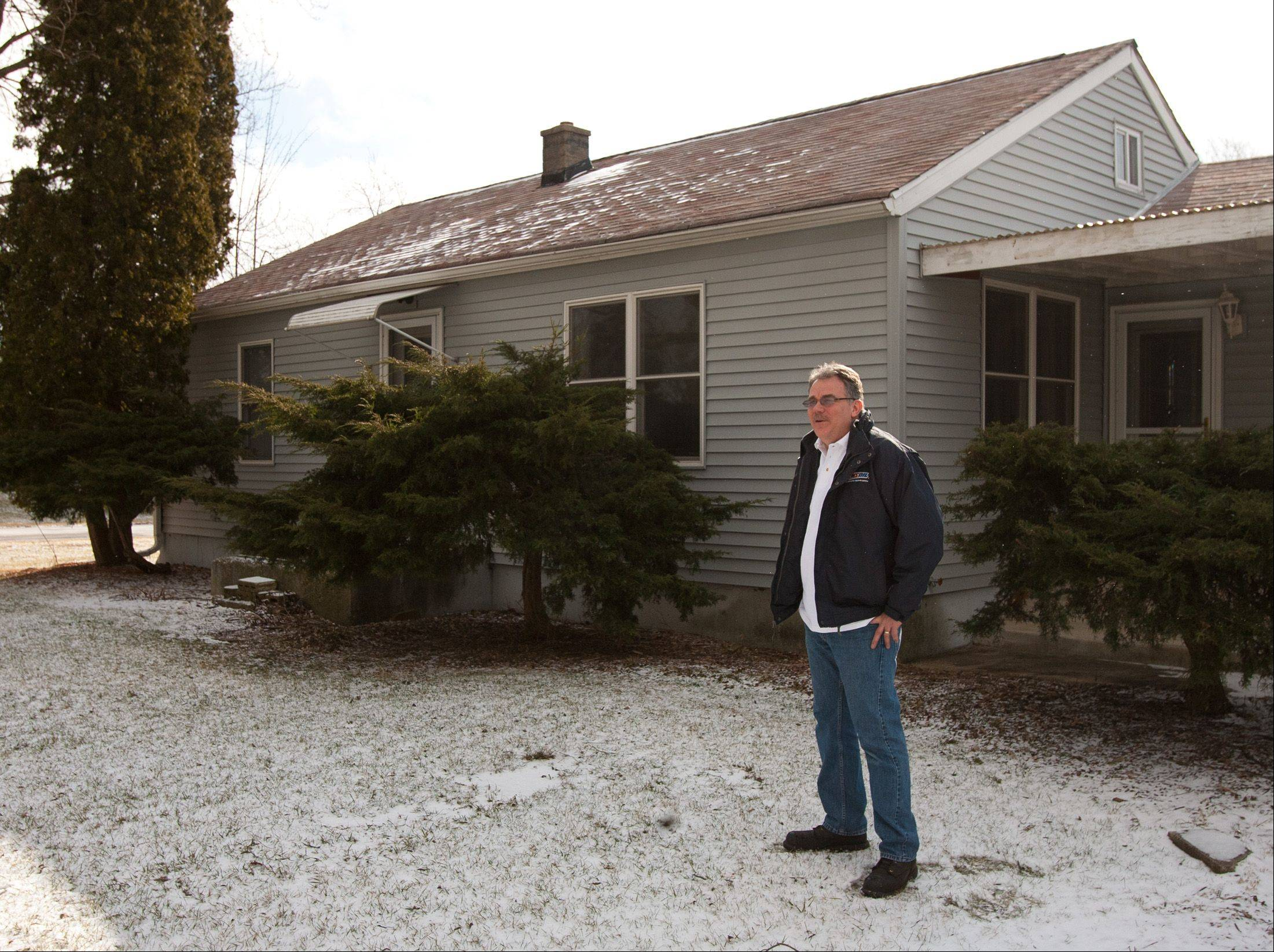Oakbrook Terrace Historical Society Director Bob Shanahan says he's pleased the city plans to sell a Sears Homart home to the society and is open to providing funds to help maintain the house for the first few years of its operation.