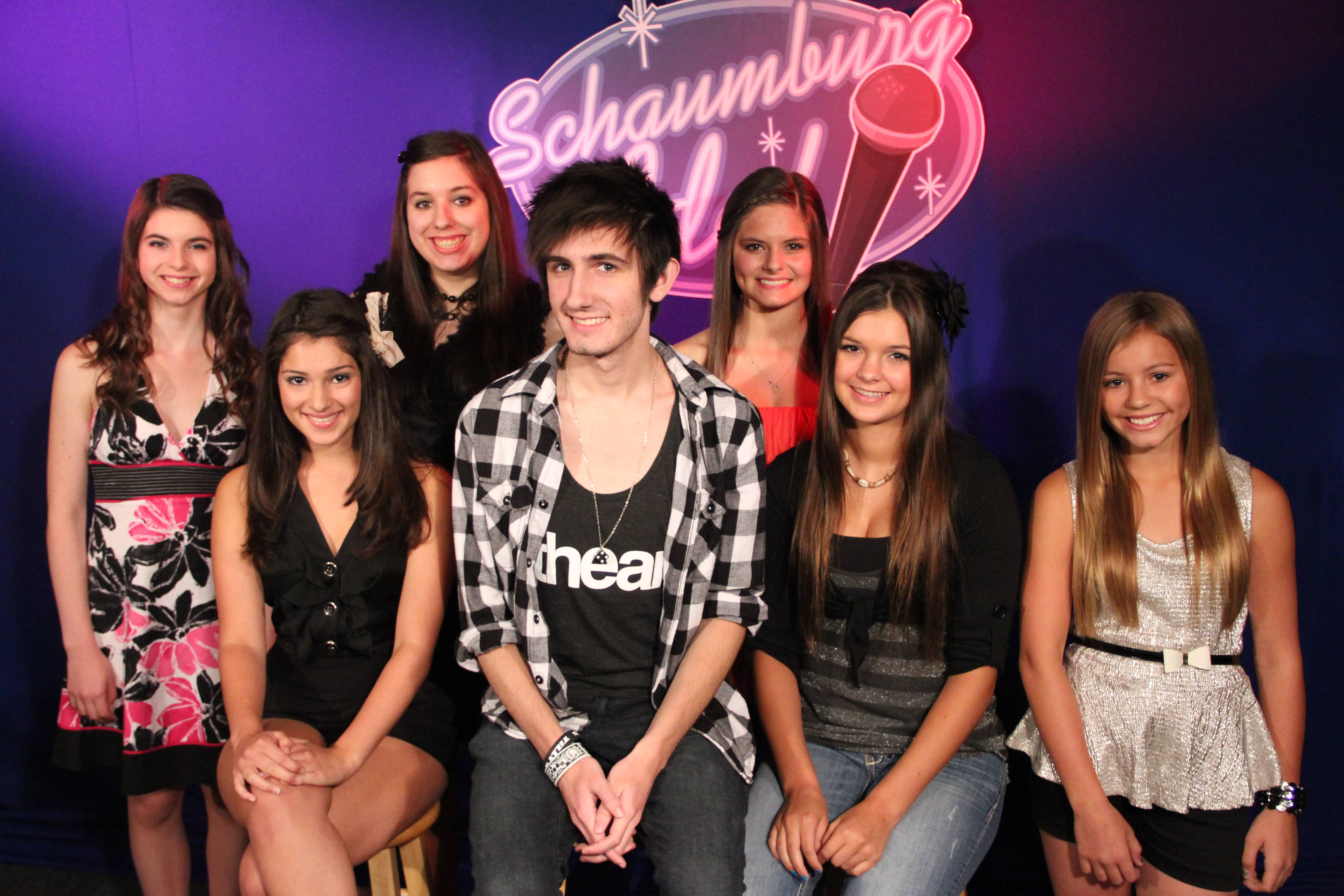 Schaumburg Idol contestants from last year's competition