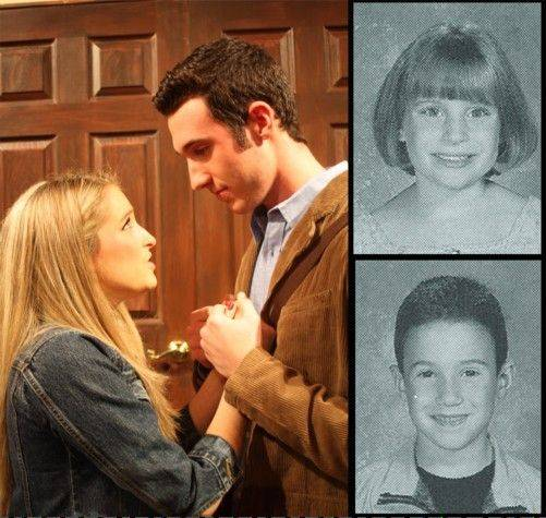 "Carly Gurrieri, who plays the lead role of Elle in ""Legally Blonde, The Musical"" at Conant High School, and Jeremy Gentry, who plays Emmett, were first-grade classmates at Nerge Elementary School in Roselle."