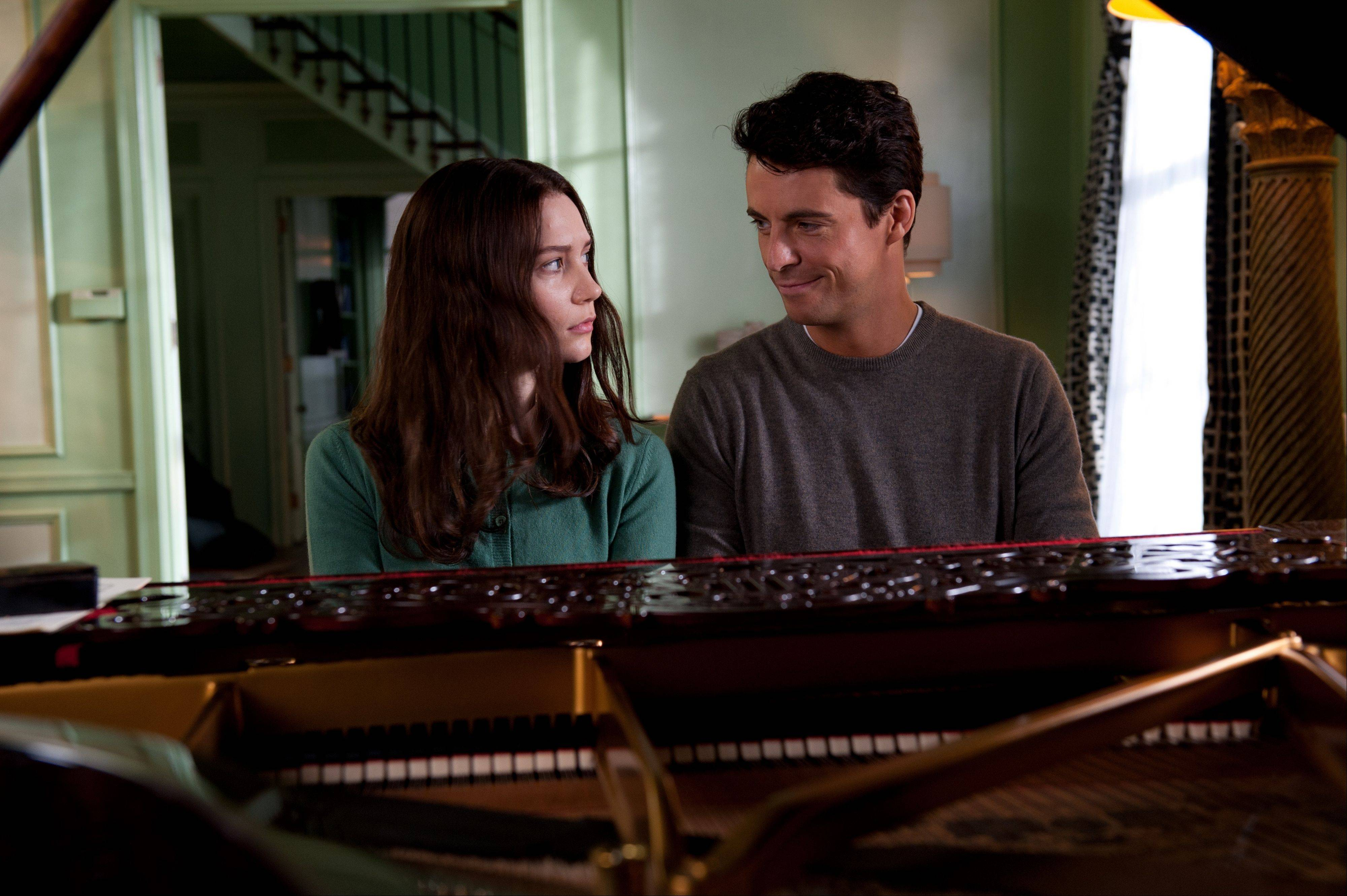 "A troubled teen (Mia Wasikowska) feels attracted to her mysterious uncle (Matthew Goode) in ""Stoker."""