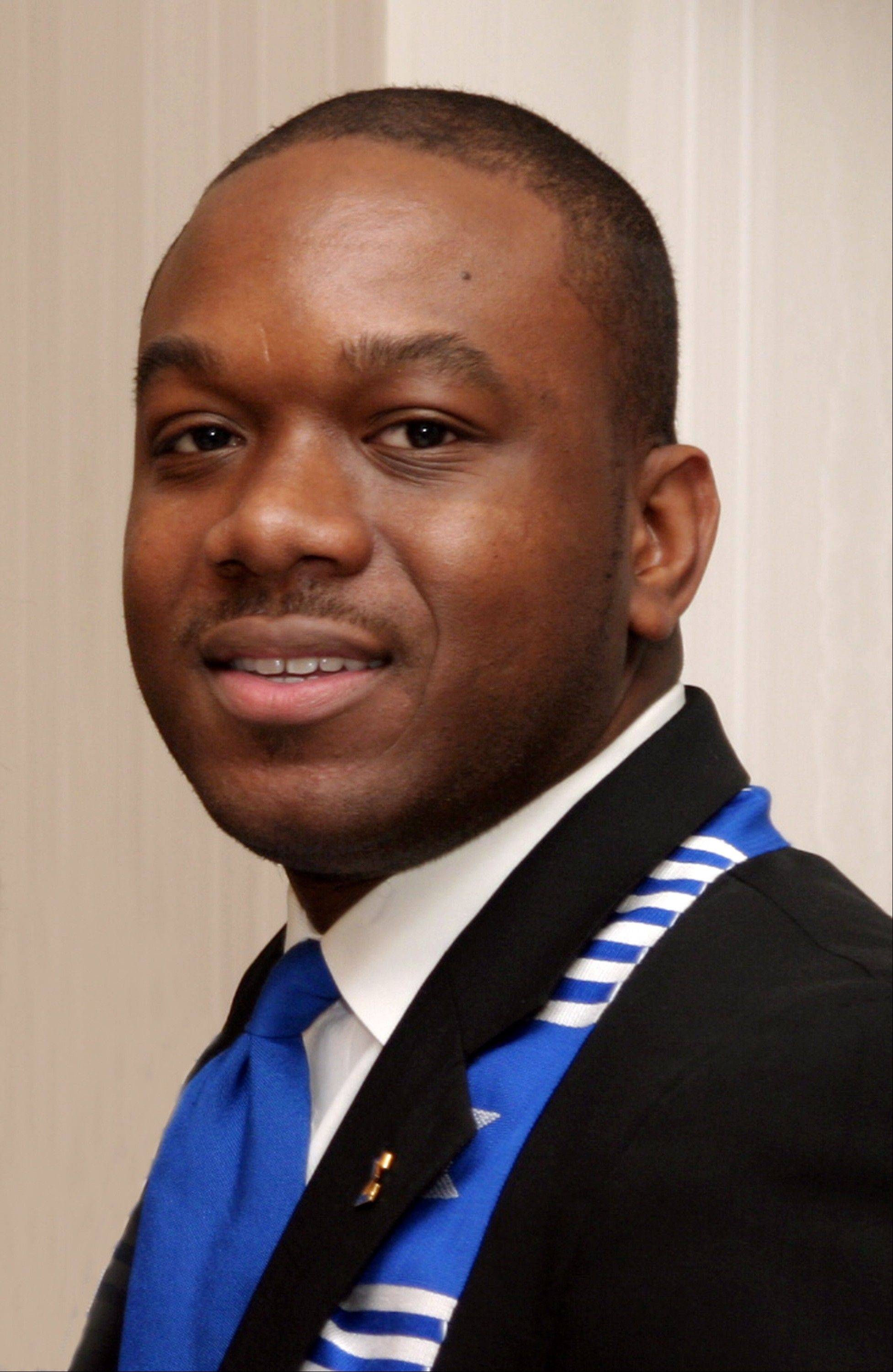 Marco McMillian, 34, a candidate for mayor of Clarksdale, Miss., who was found dead on the Mississippi River levee Wednesday, Feb. 27, 2013 between Sherard and Rena Lara, Miss. Authorities say the case is being investigated as a homicide. McMillian had served as international executive director of Phi Beta Sigma Fraternity, Inc. His campaign said he may have been the first openly gay man to be a viable candidate for public office in Mississippi.