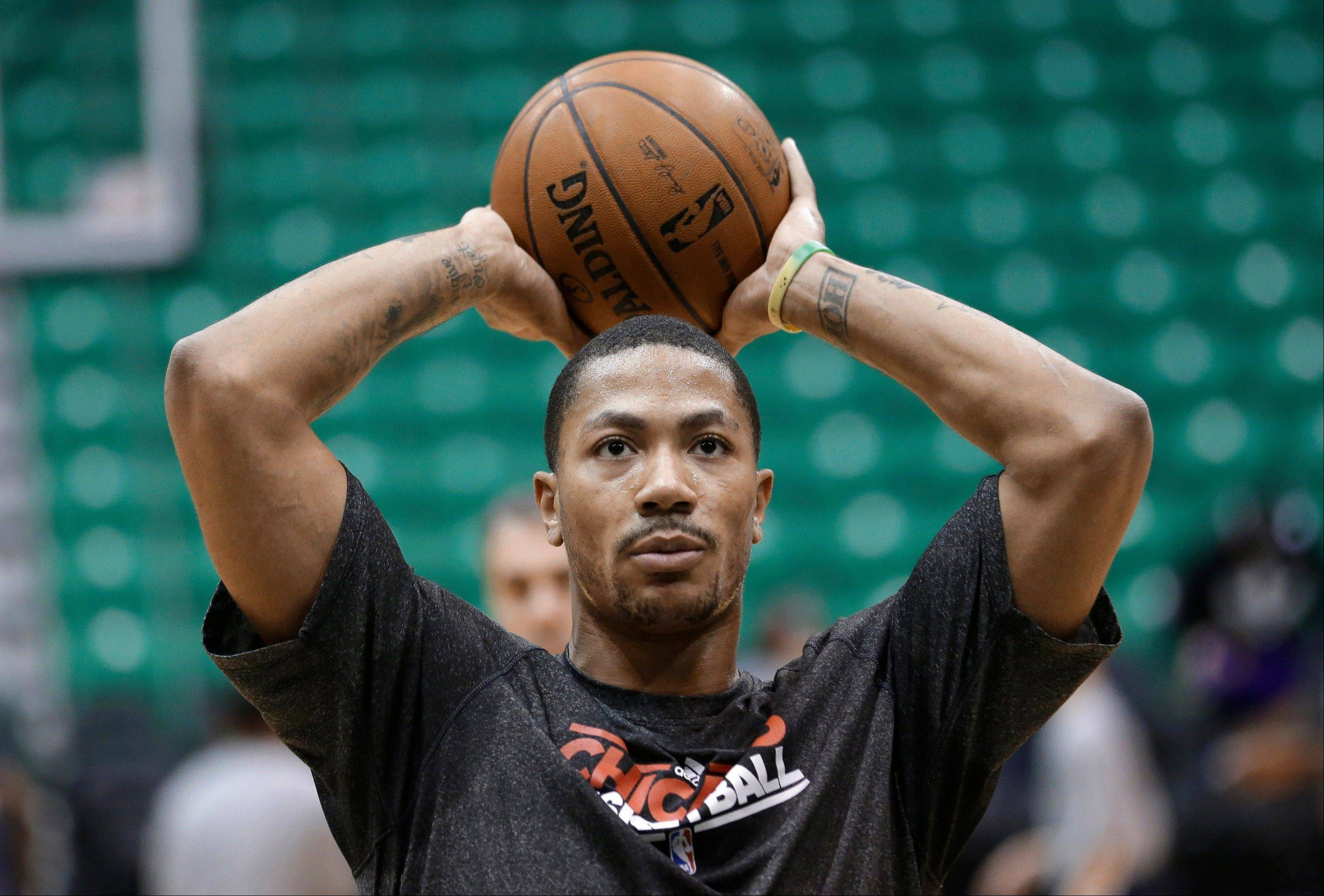 "Bulls point guard Derrick Rose has said he will not return until he's ""110 percent."" But is this the right way for him to look at things?"