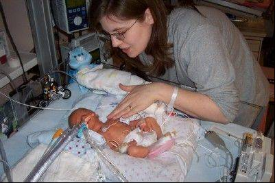 Submitted by Jessica GuthrieHoffman Estates resident Jessica Guthrie with her son Eli, who was born prematurely and stayed in a neonatal intensive care unit for five weeks. She founded Eli's Hope, a faith-based 501(c)(3), with her husband in 2011 to support families who face similar circumstances.