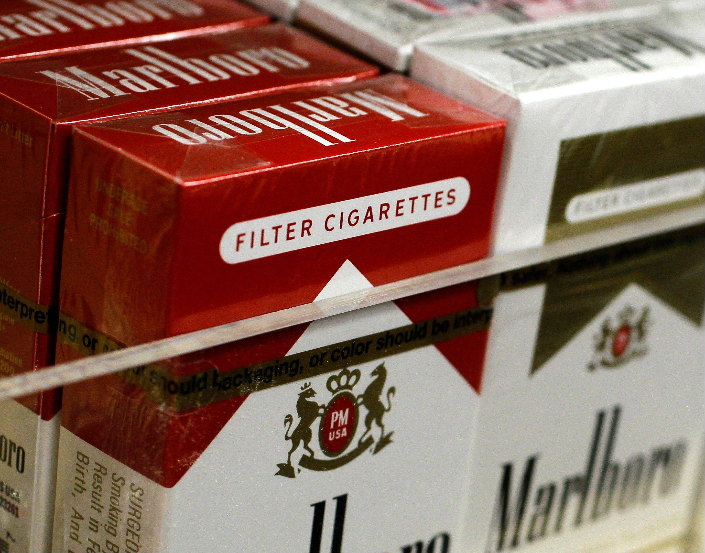 Cigarettes now $1 more per pack in Cook County