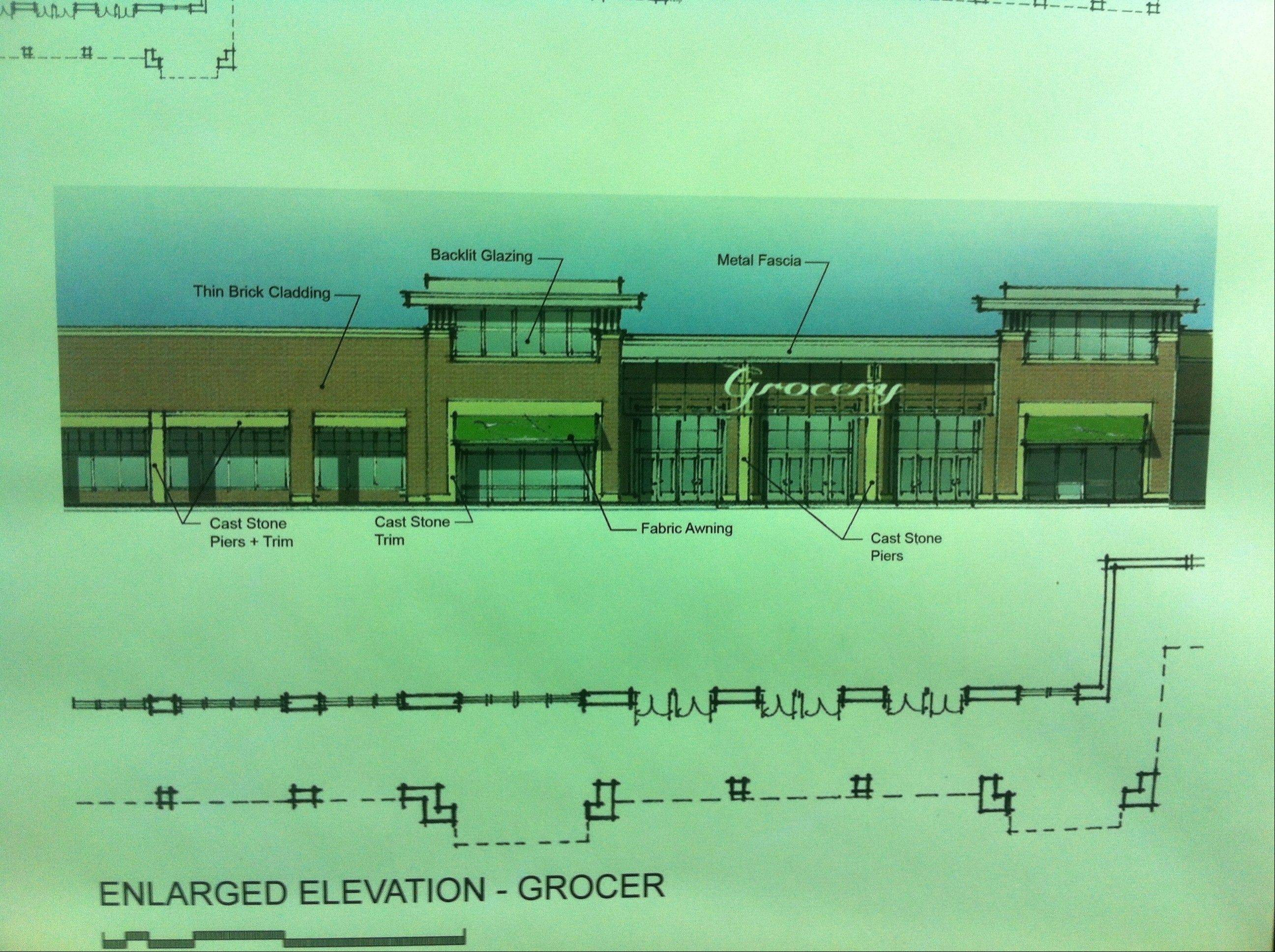 This rendering was on display Thursday at the neighborhood meeting.