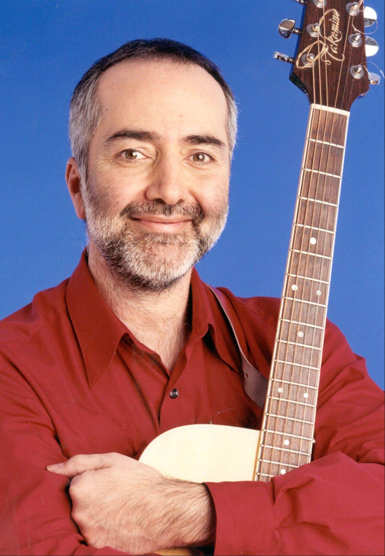Children's entertainer Raffi will perform in concert at the Paramount Theatre in Aurora Sunday, May 19.