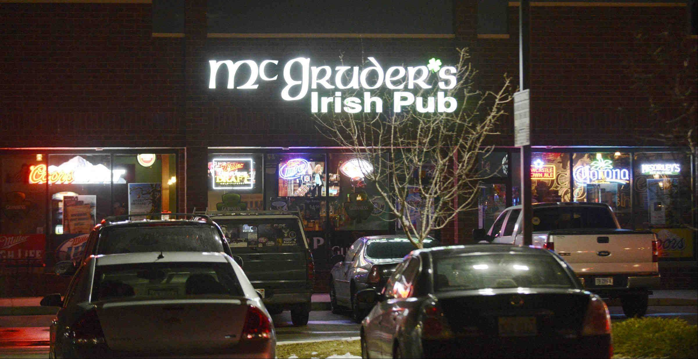 McGruder's Irish Pub opened in July in Elgin.