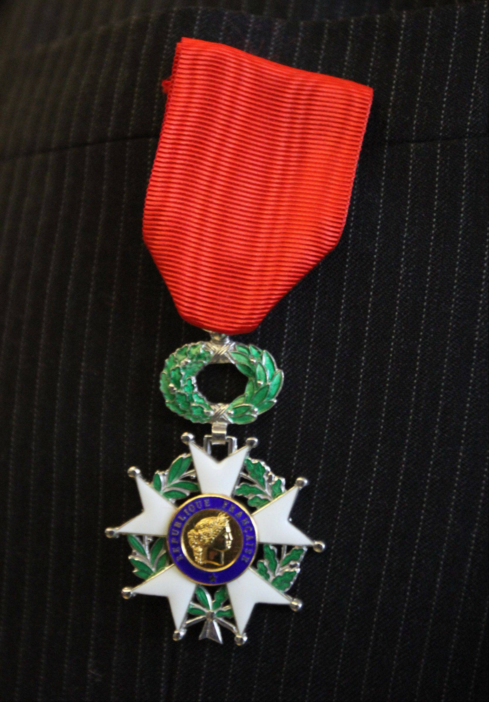 This is the French Legion of Honor medal.