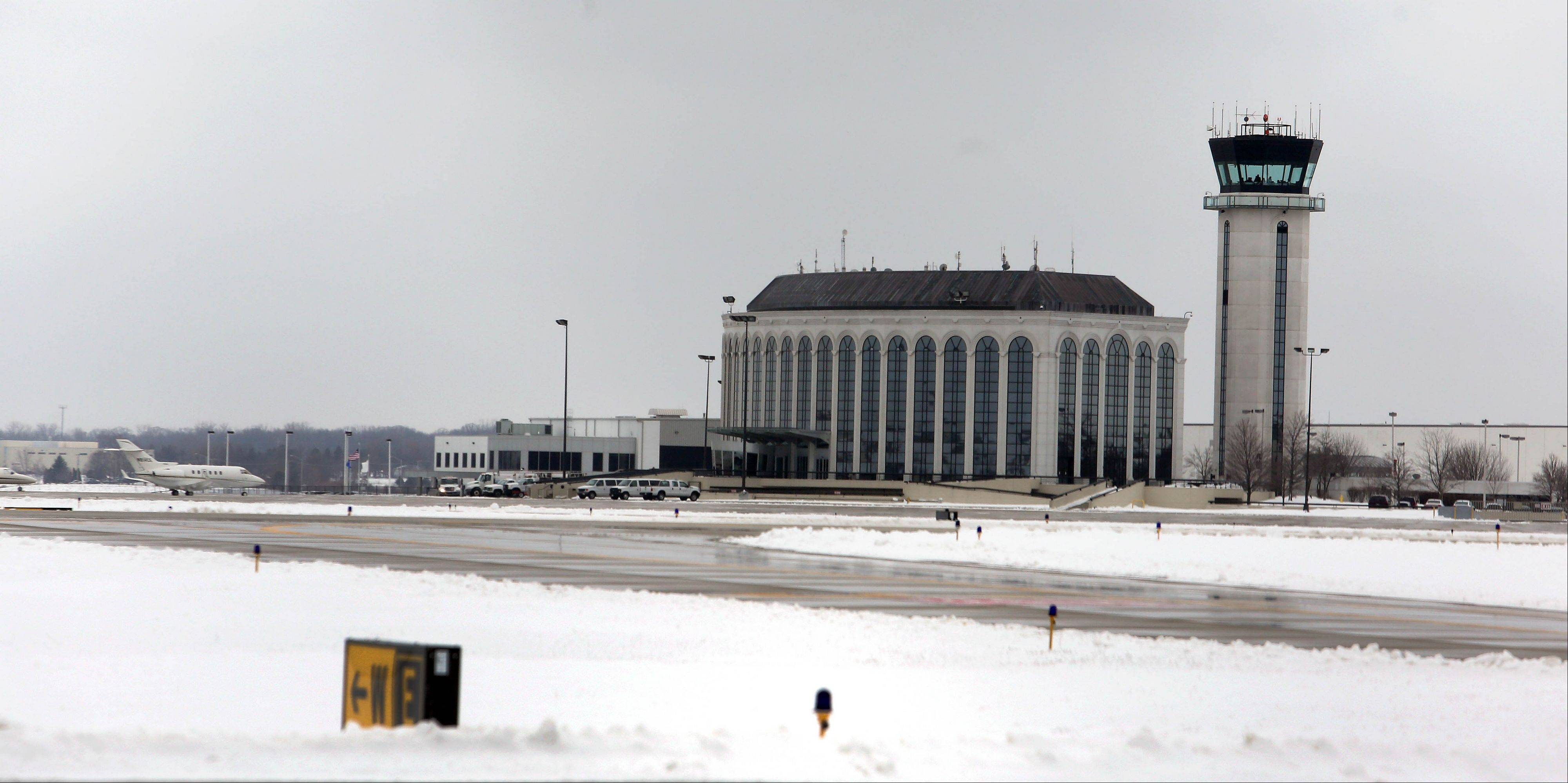 The DuPage County Airport in West Chicago could see its tower closed if cuts triggered by the sequester occur.