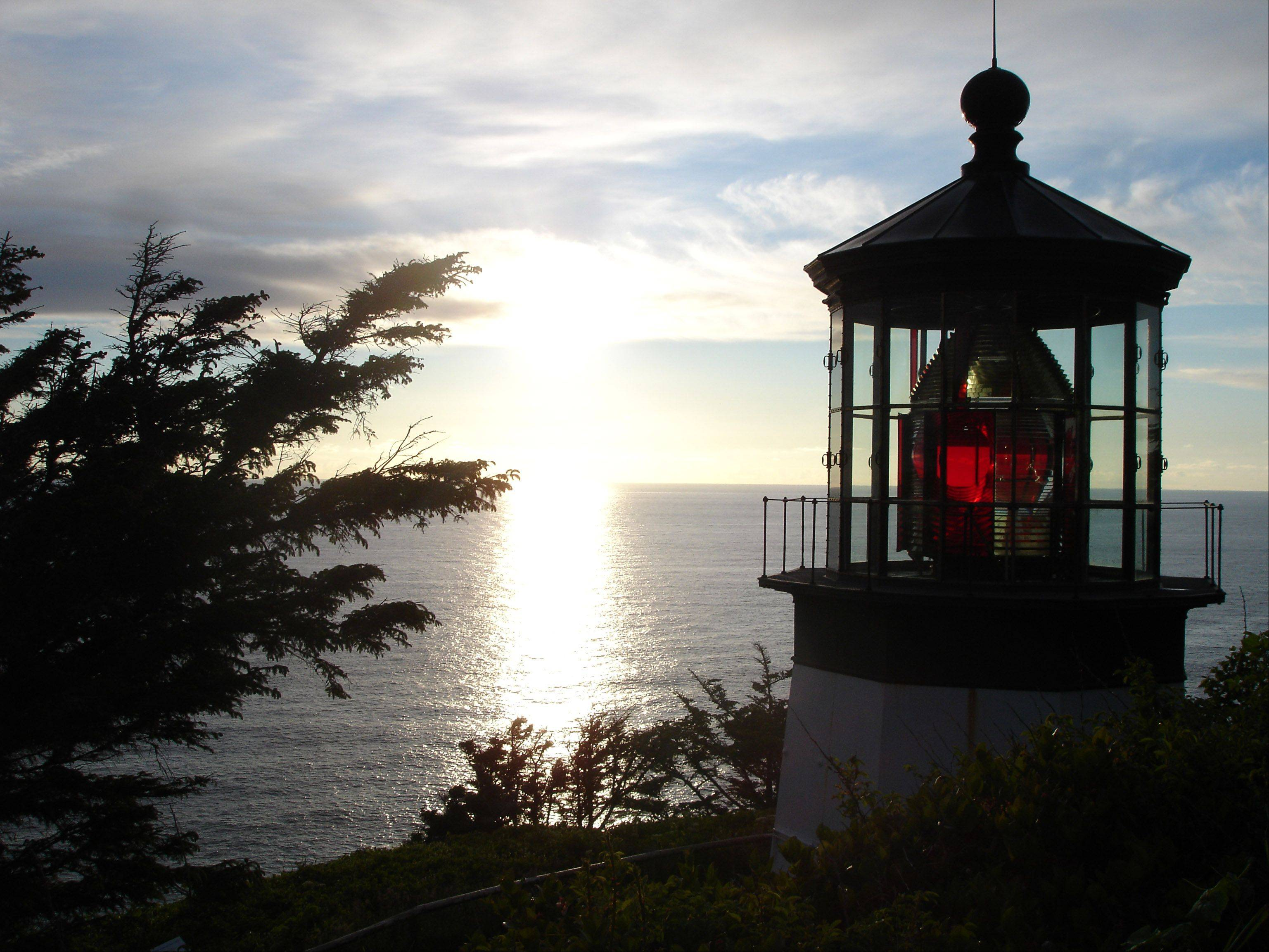 Taken at Cape Meares Lighthouse in Tillamook, Oregon during a family vacation in June, 2012.