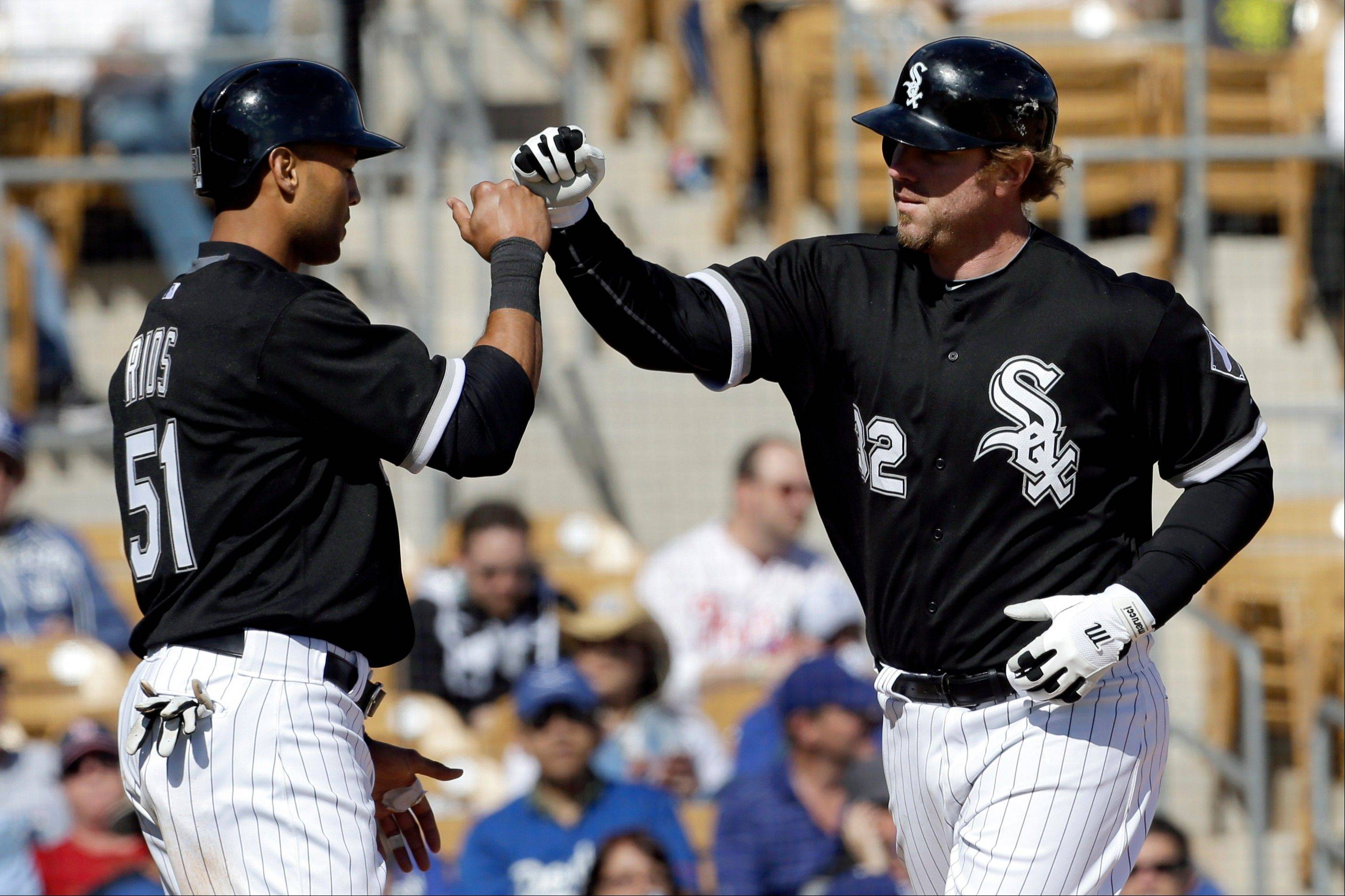 Adam Dunn, right, belted 41 home runs and drove in 96 runs to lead the White Sox, and he paced the American League with 105 walks. But Dunn also topped the major leagues with 222 strikeouts, a franchise record, and he disappeared over the final month of the season when the White Sox blew a 3-game lead with 15 to play and missed the playoffs.