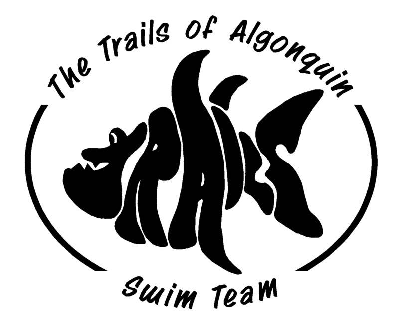Trails Swim Team Logo