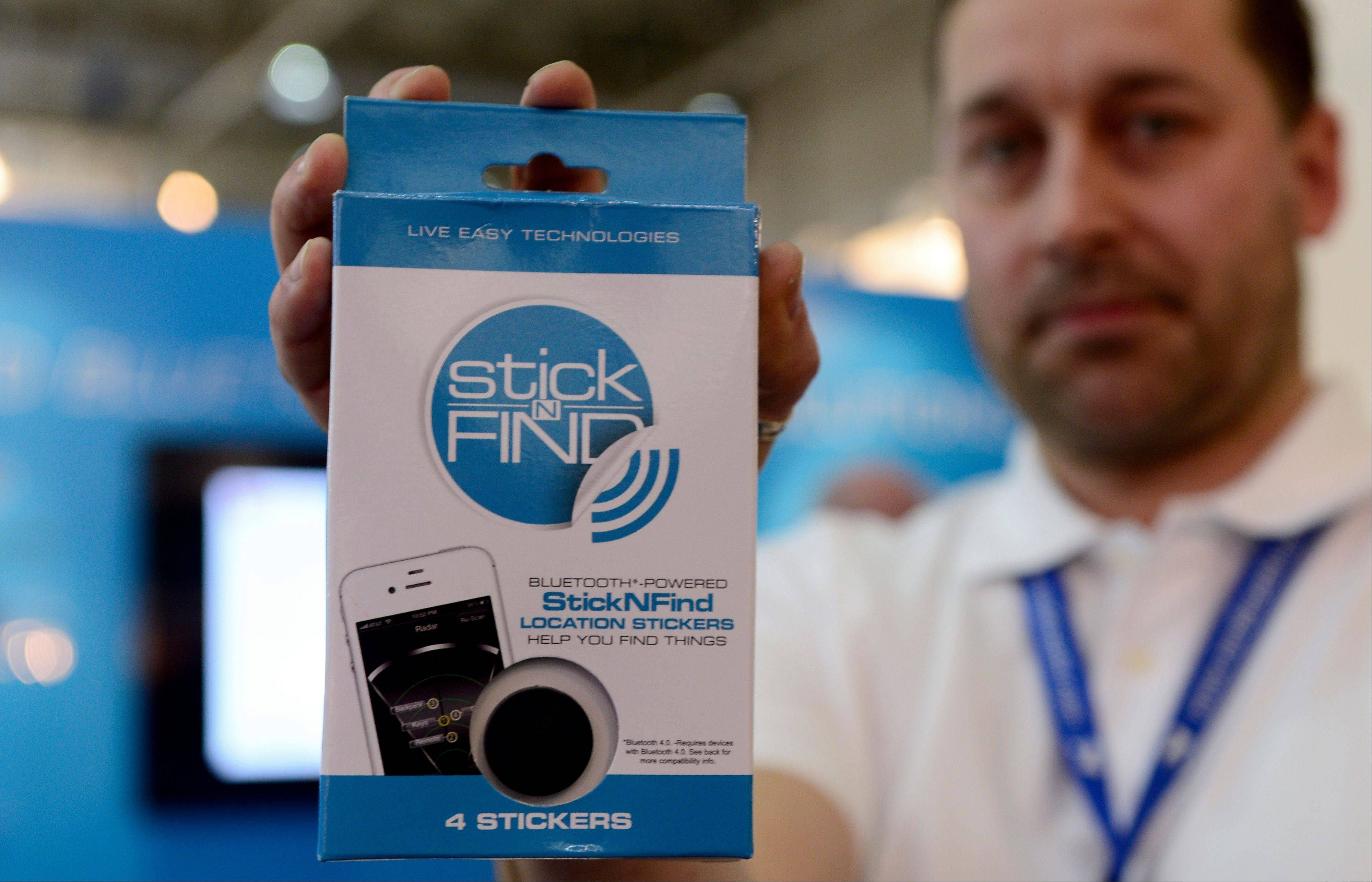 Stick-N-Find Technologies, wants to give people a way to find things, by using a new radio technology known as Bluetooth Low Energy, which drastically reduces the power consumption of a transmitting device.