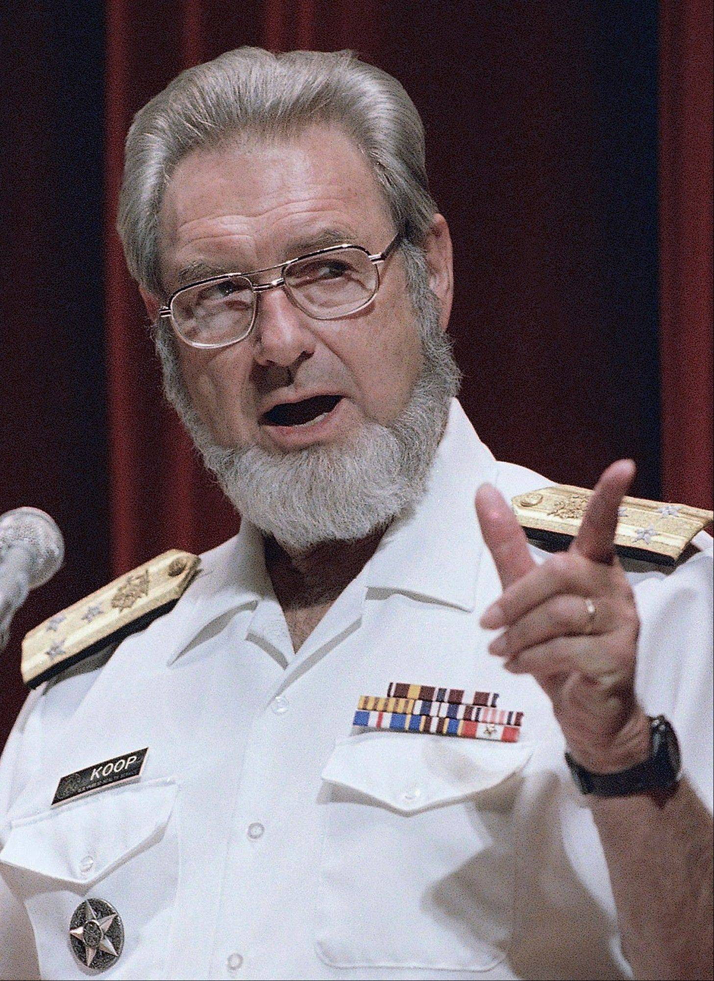 U.S. Surgeon General C. Everett Koop