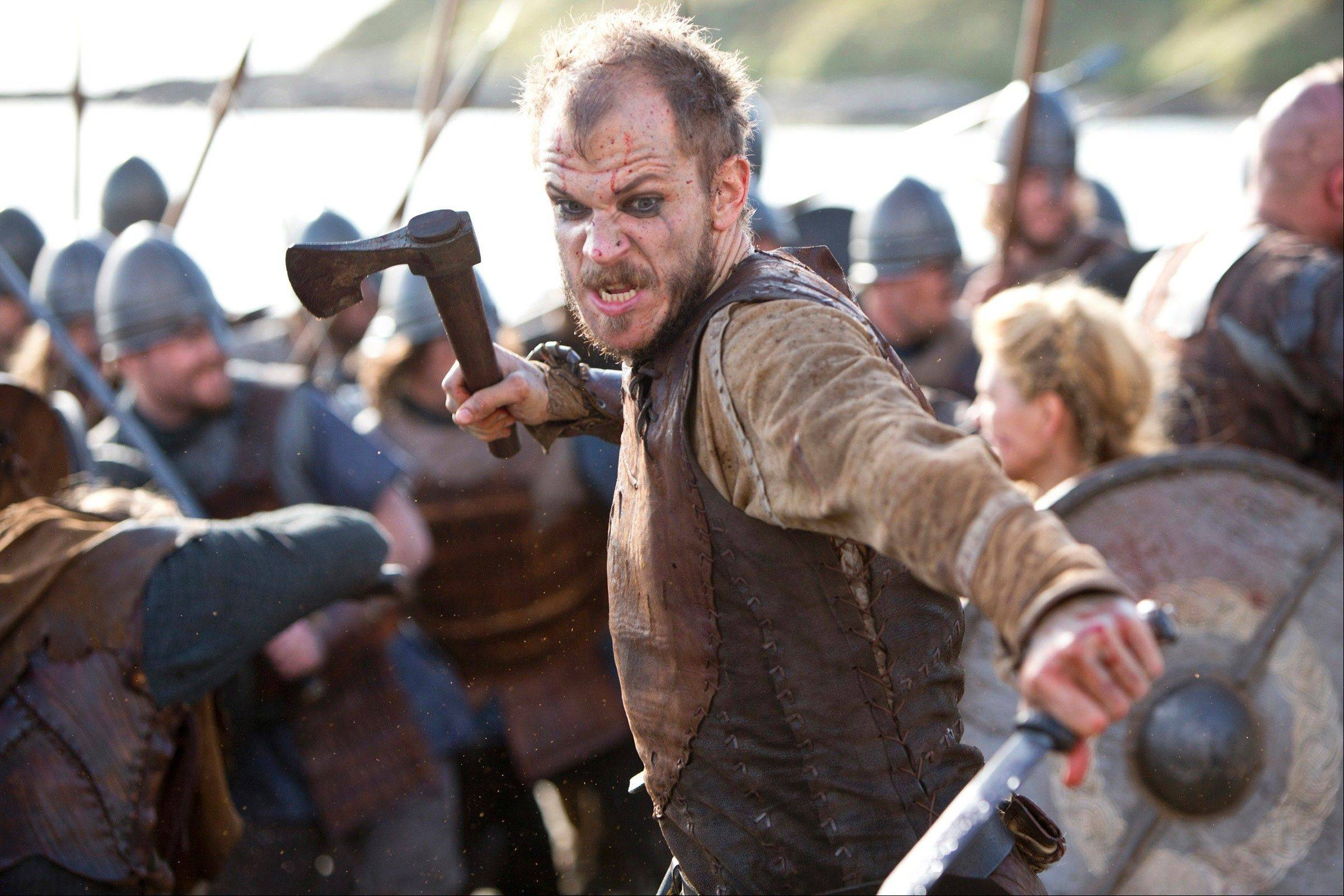 "Gustaf Skarsgard stars as Floki in ""Vikings,"" History's new drama series that premieres Sunday, March 3."